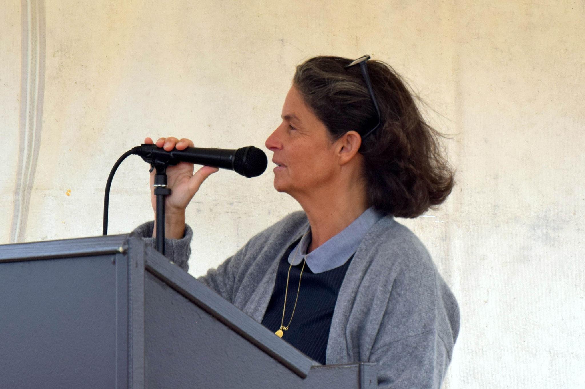 Pauline Martin, vice-présidente du conseil départemental