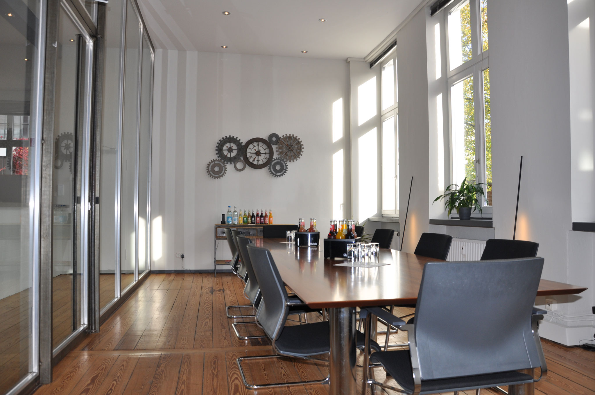 Büro-Loft - Großraumbüro - Die Ferberei - Home Staging Hamburg