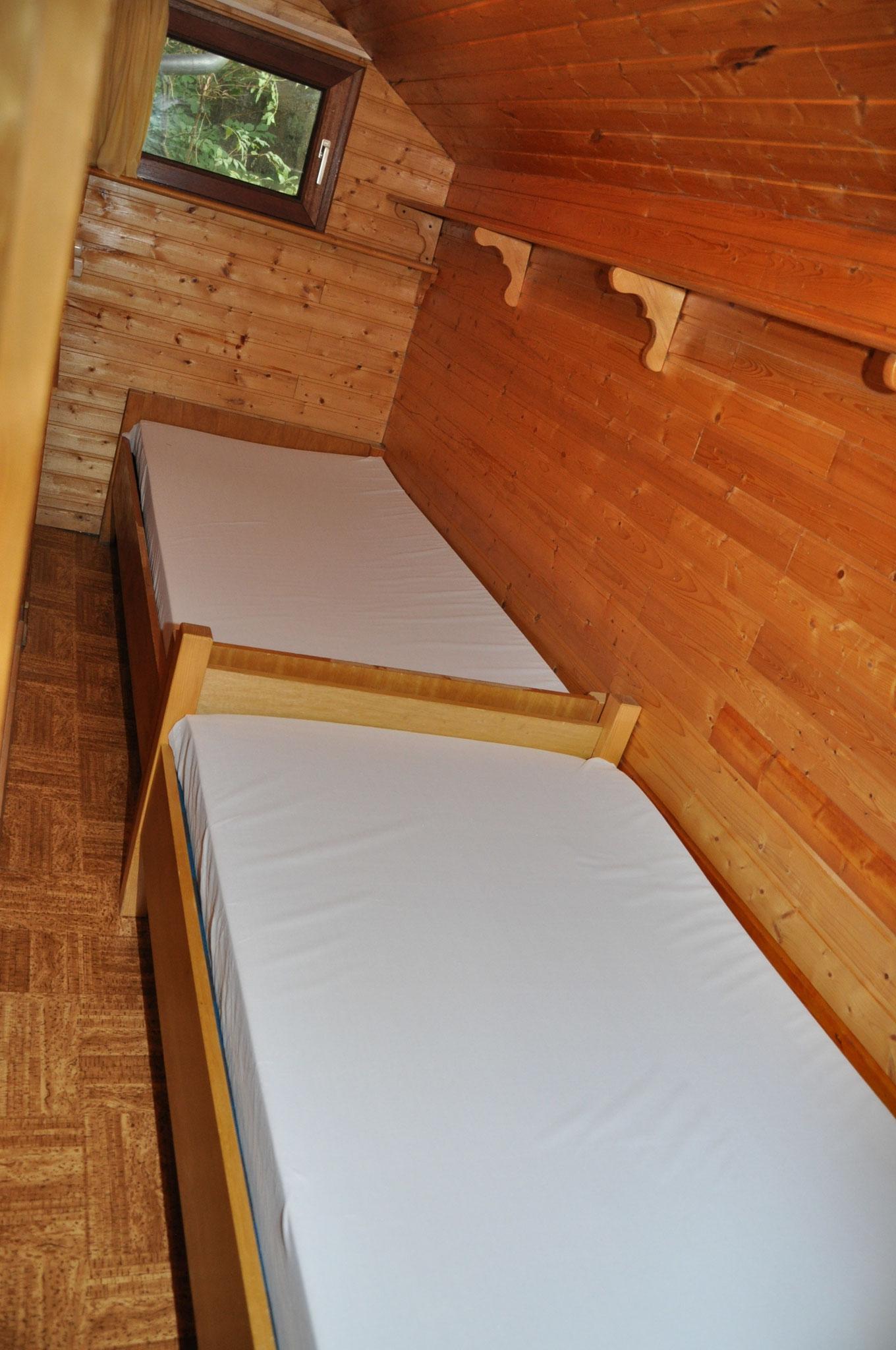 2.Schlafraum mit 2 Einzelbetten