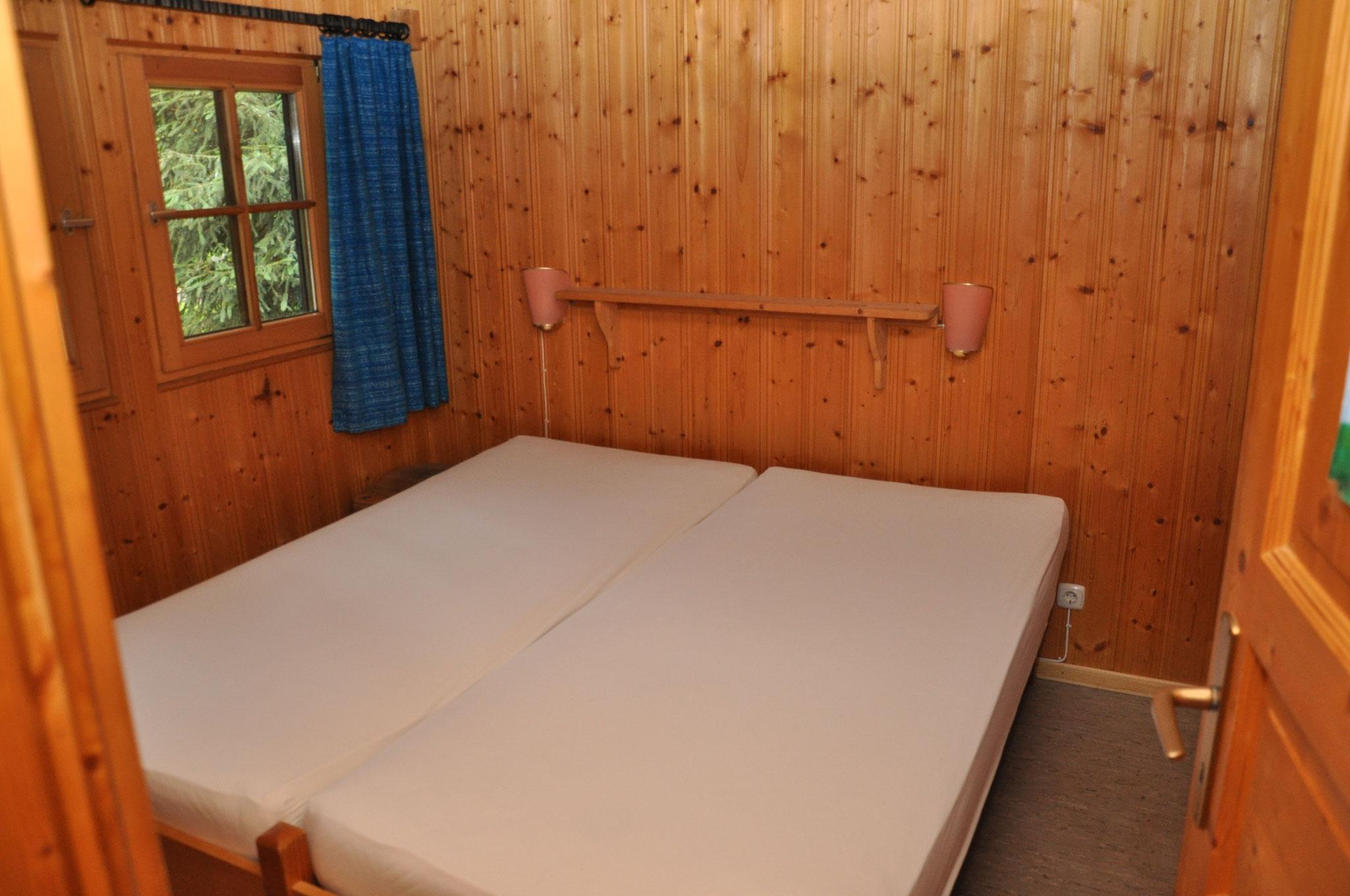 1.Schlafraum mit Doppelbett