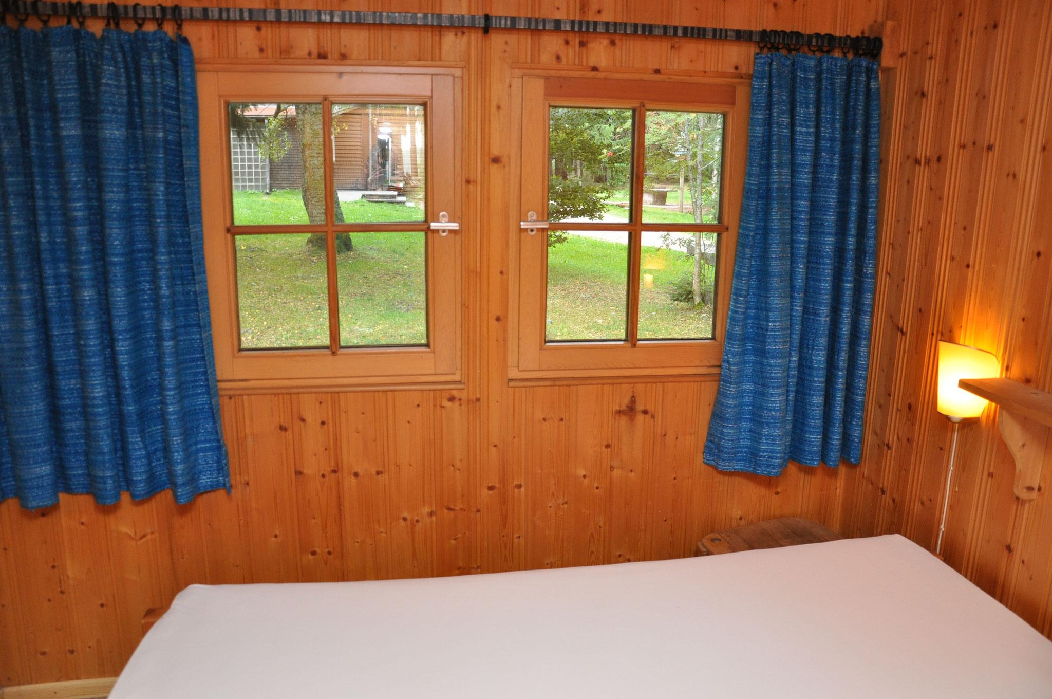gleiche Schlafraum-Fensteransicht-