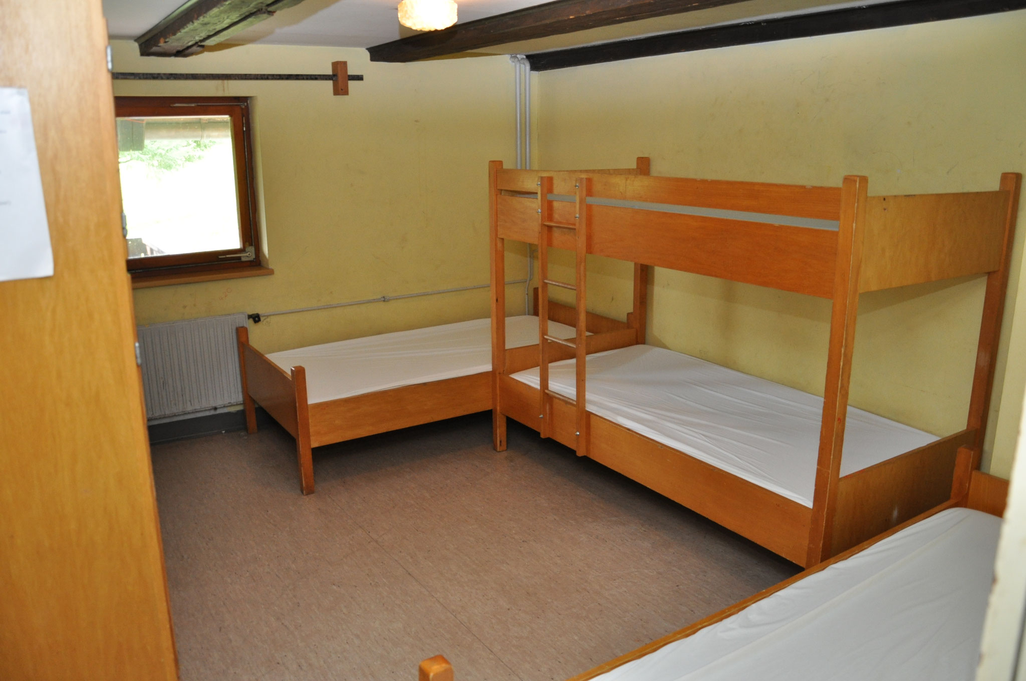 ein Schlafraum im 1.OG mit 4 Betten