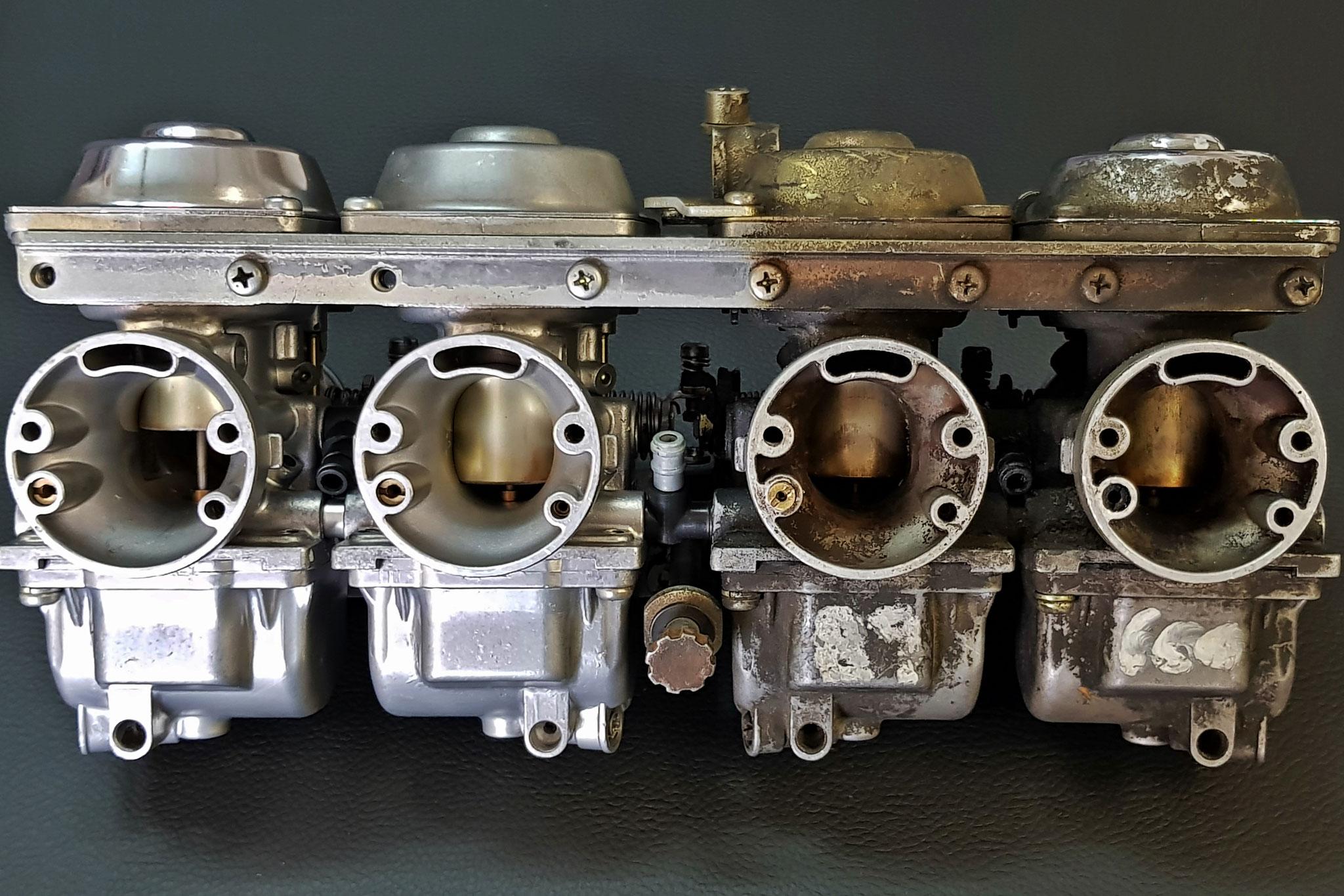 microbillage carburateurs Mikuni