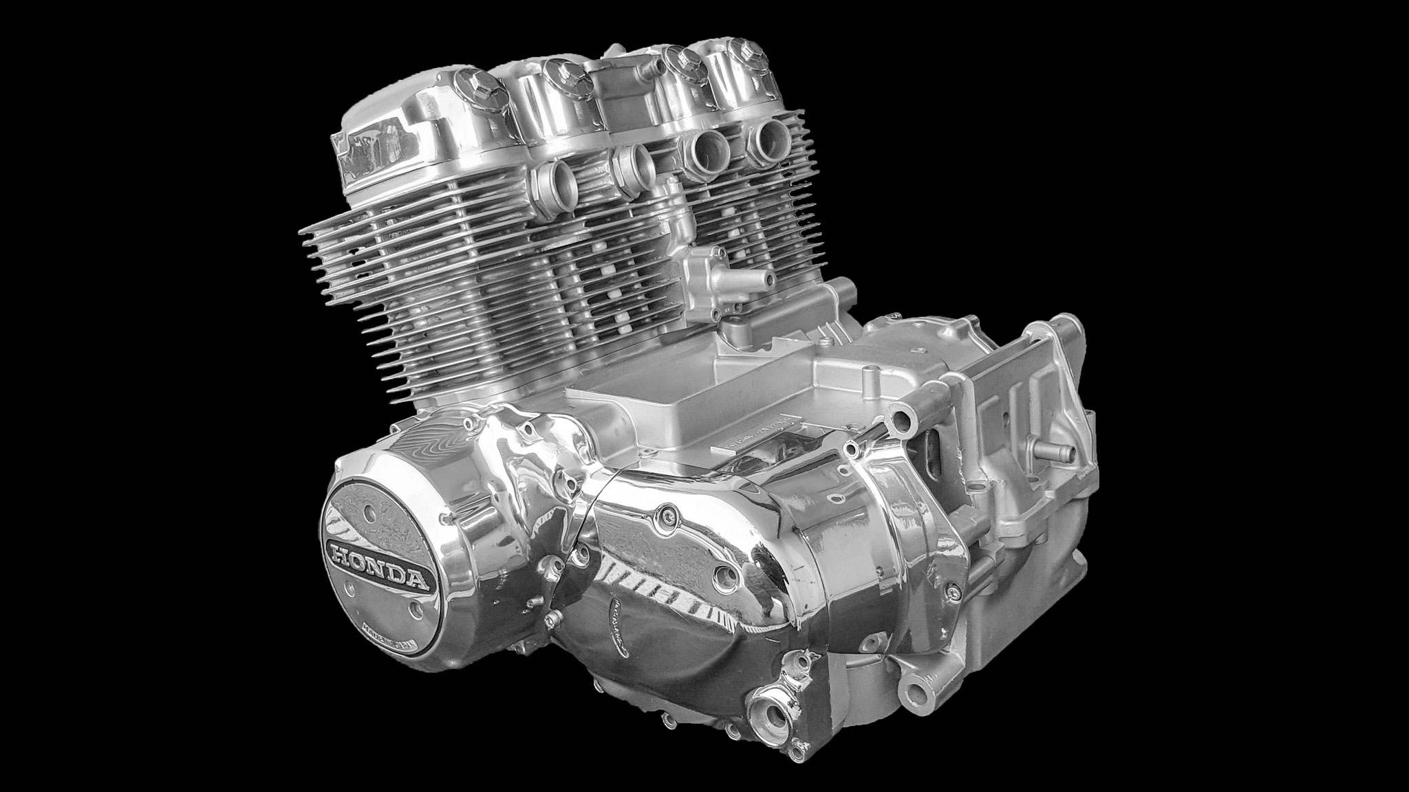 microbillage moteur Honda CB750