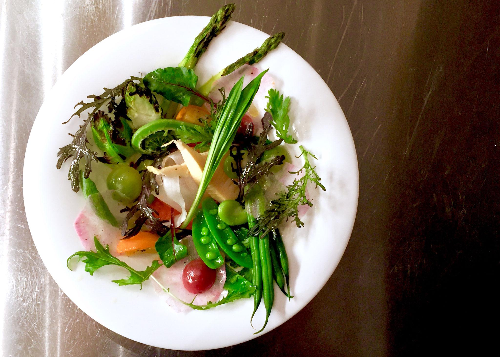 拘り旬野菜のオードブルサラダ