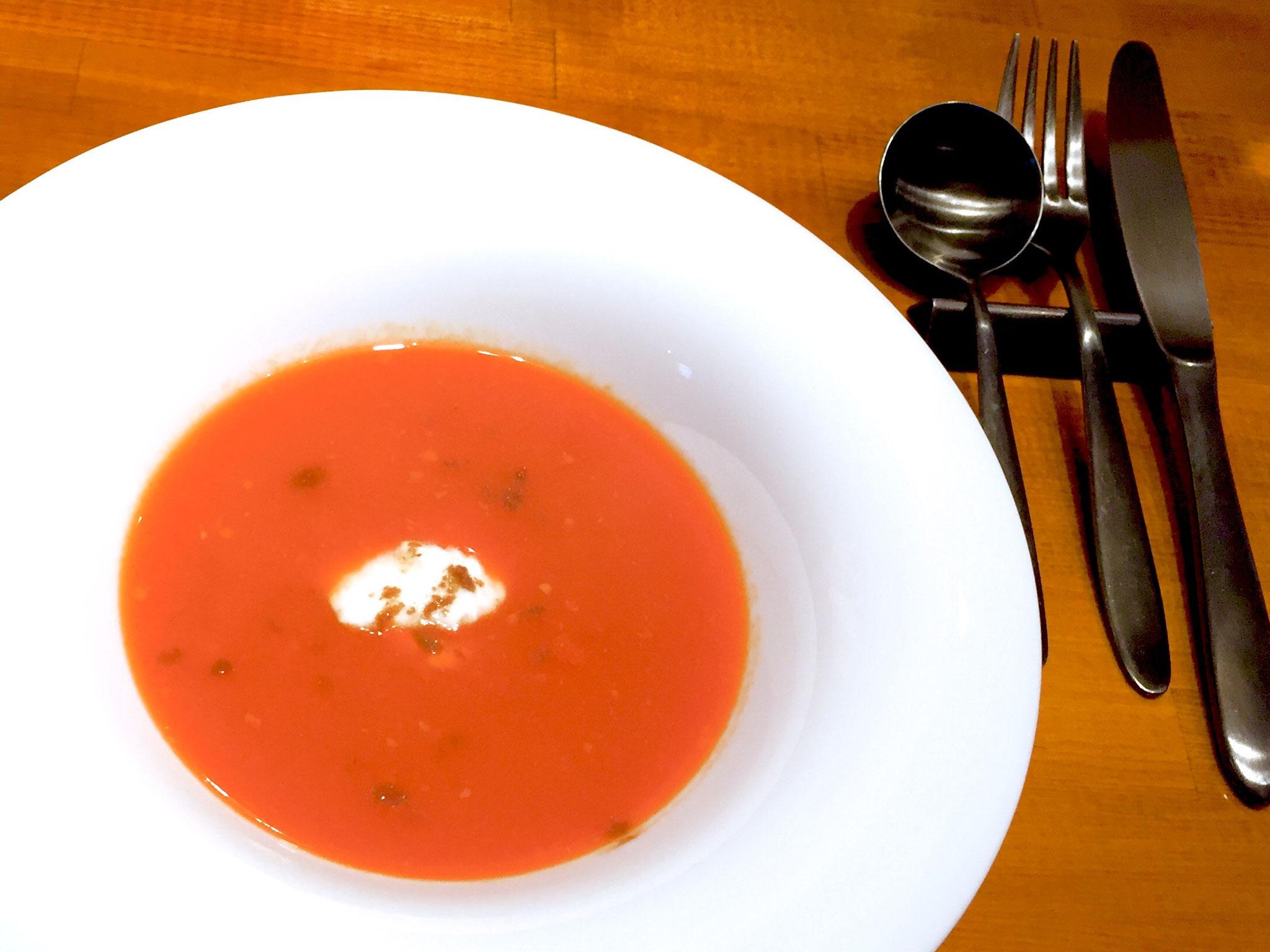 甘酒と旬野菜のポタージュ