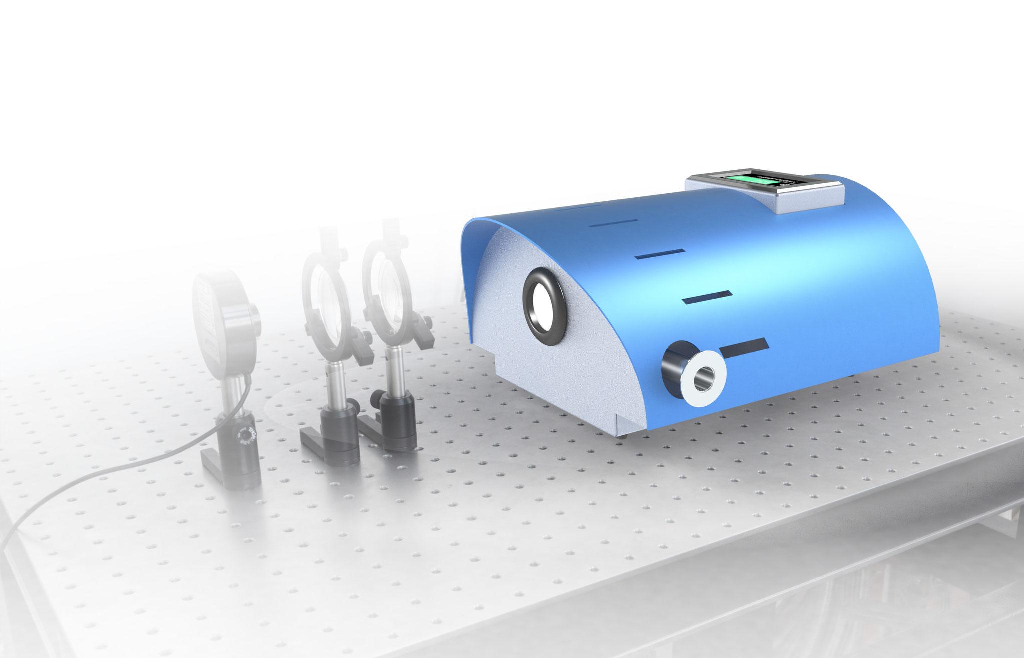 Laser mit bis zu 6 Quellen - TeraCascade 1000