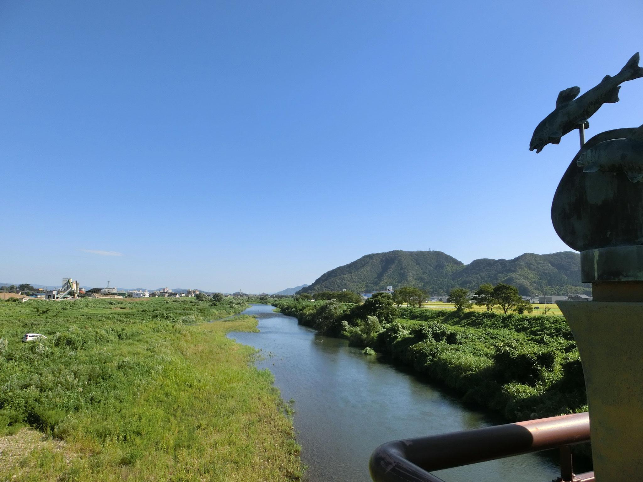 H28.8.31 9時10分 越前市 日野大橋下流