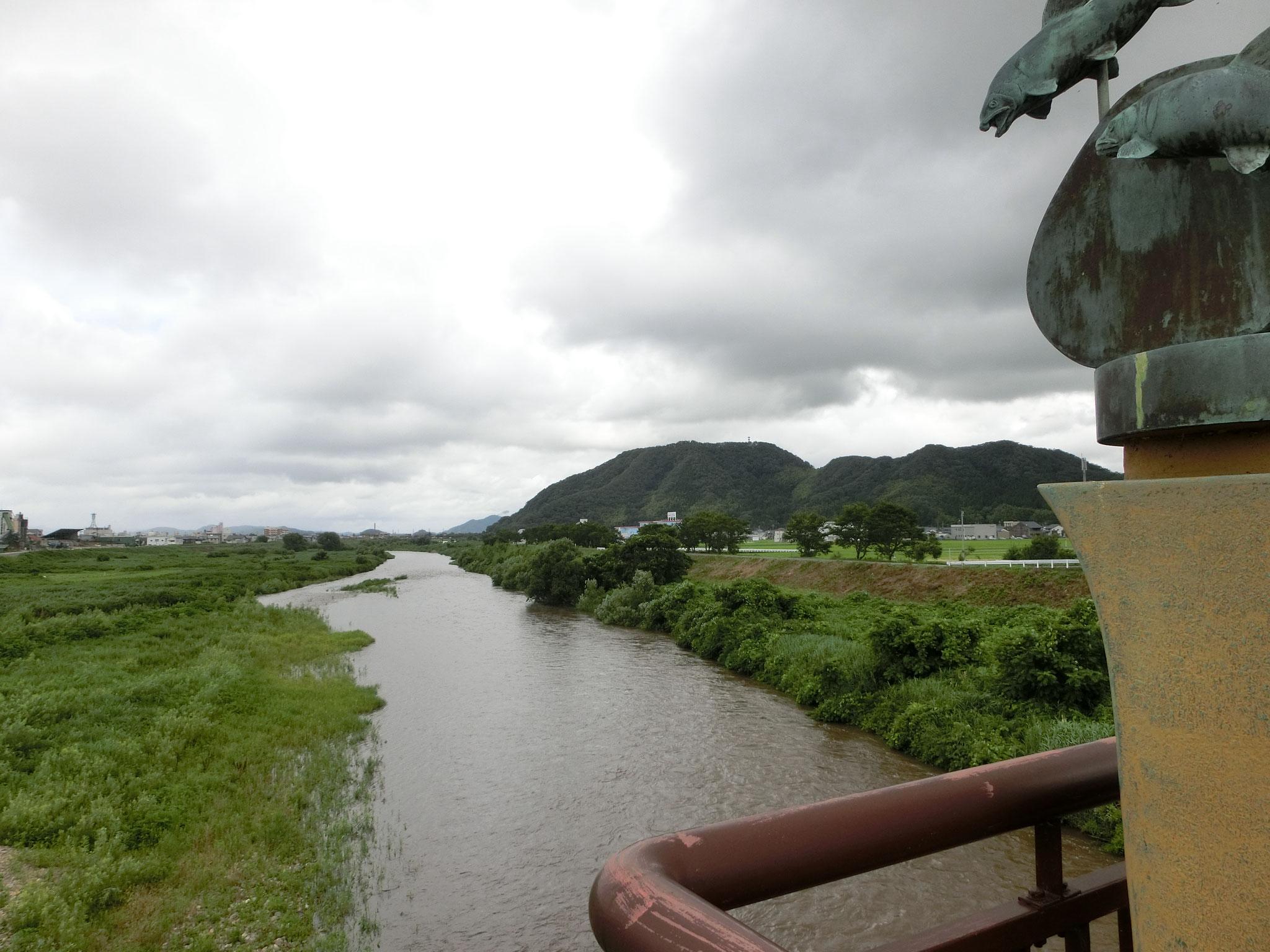H28.7.15 13時20分 越前市 日野大橋下流