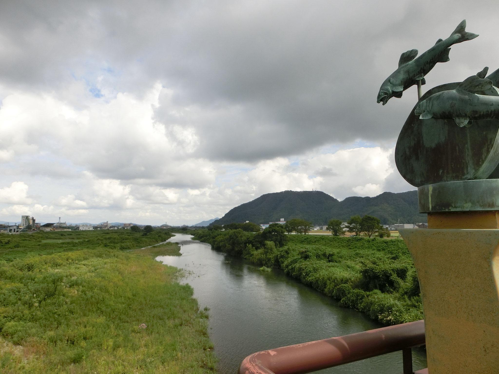 H28.9.14 11時10分 越前市 日野大橋下流