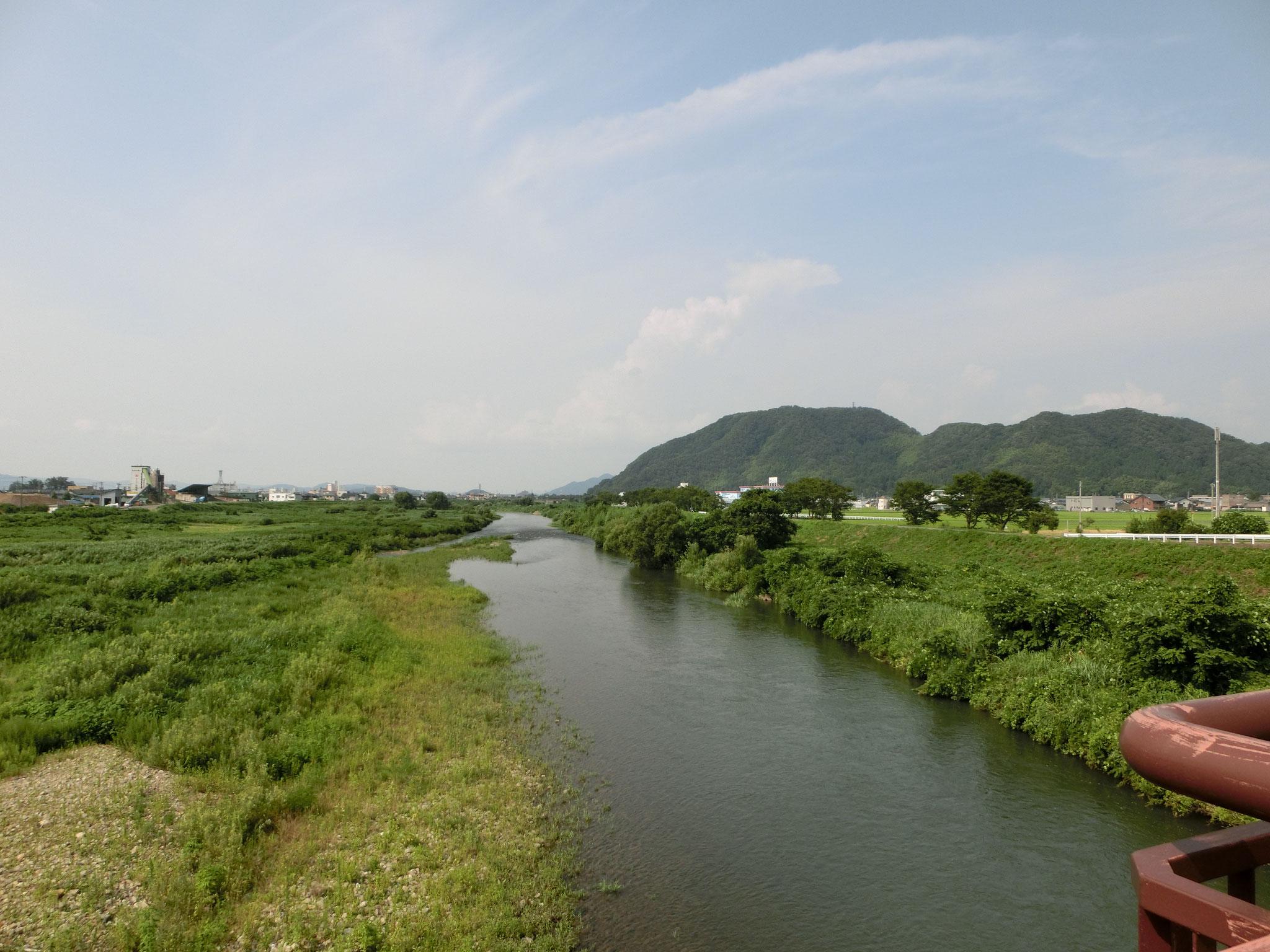 H28.7.27 15時30分 越前市 日野大橋下流