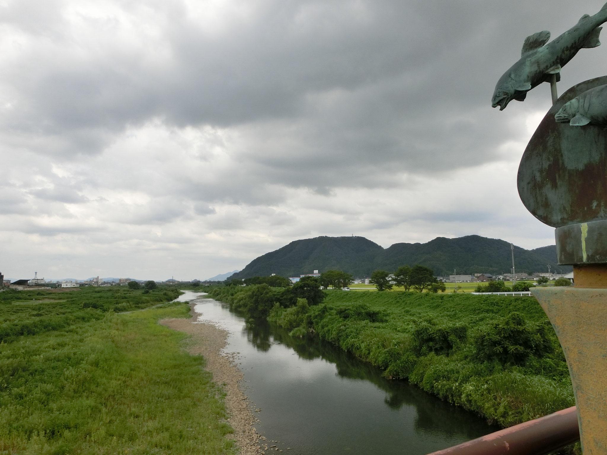 H28.8.24 12時15分  越前市日野大橋下流