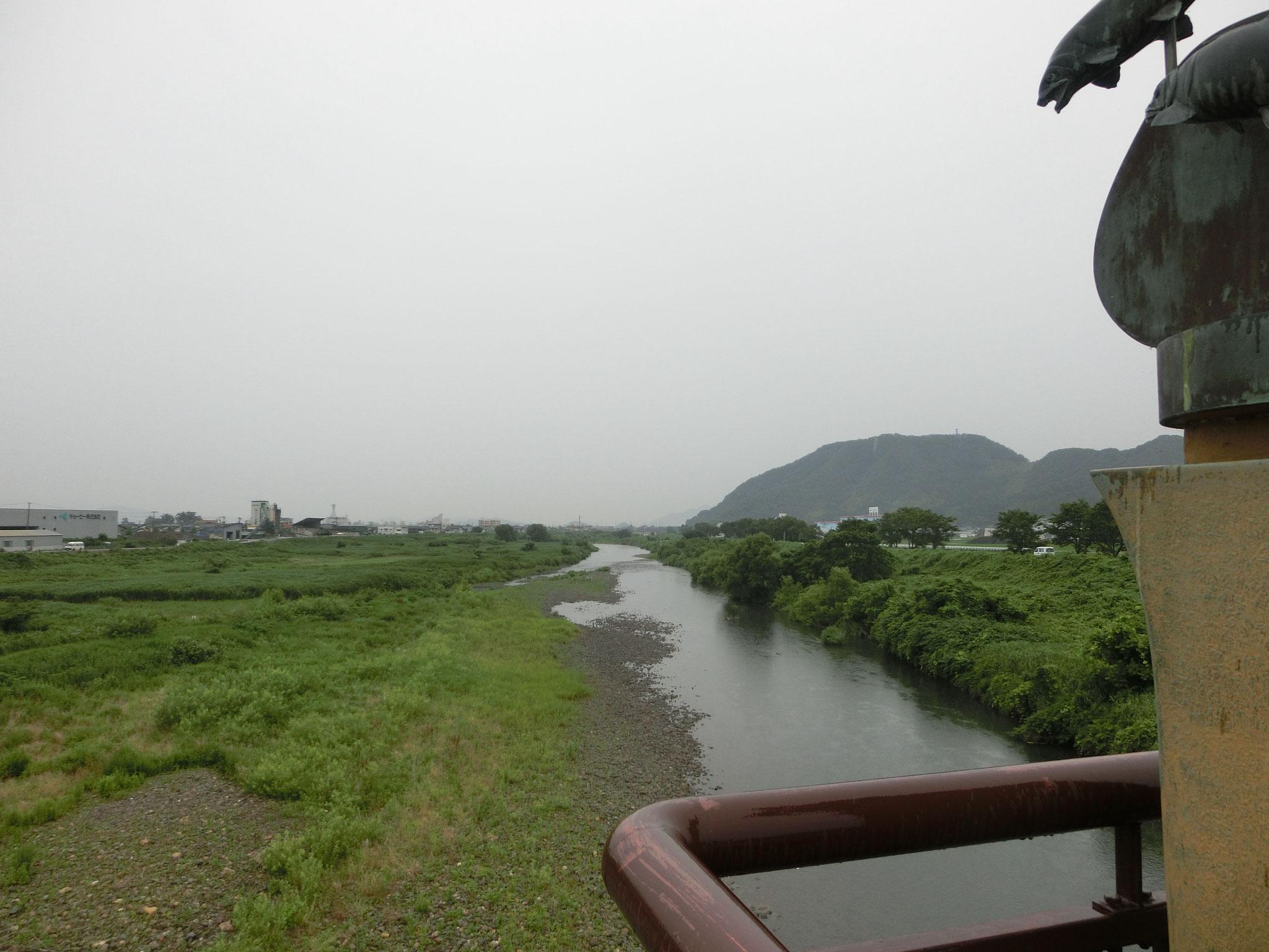 H28.6.24 13時 越前市 日野大橋下流