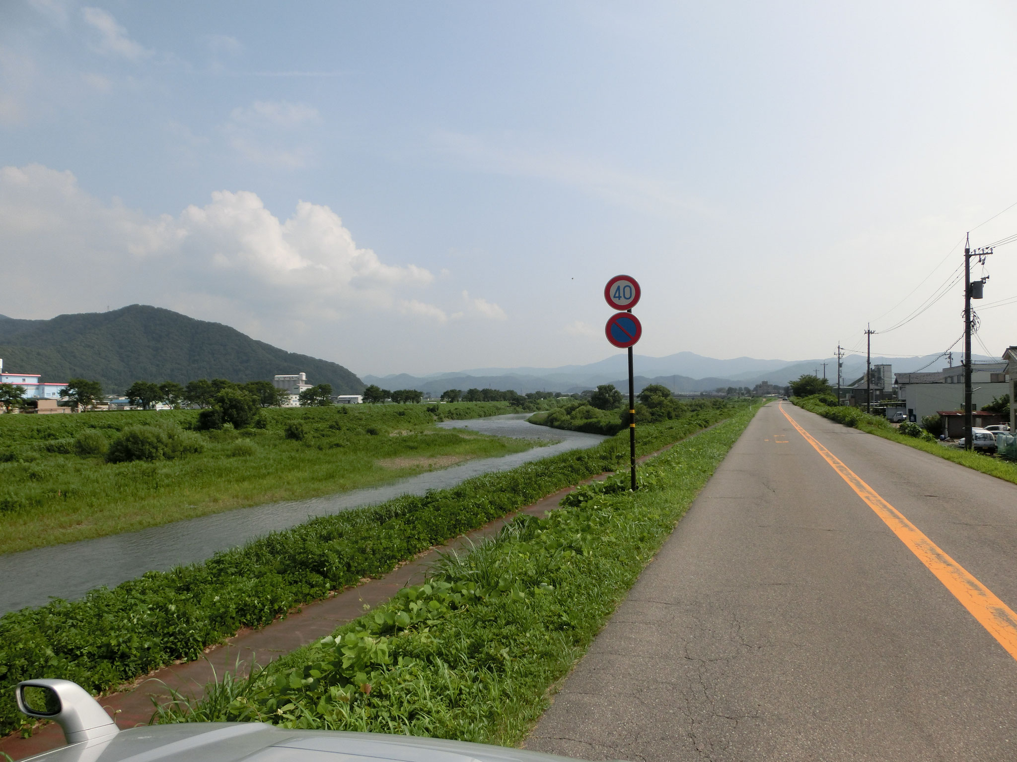 H28.7.27 15時 越前市 日野大橋下流