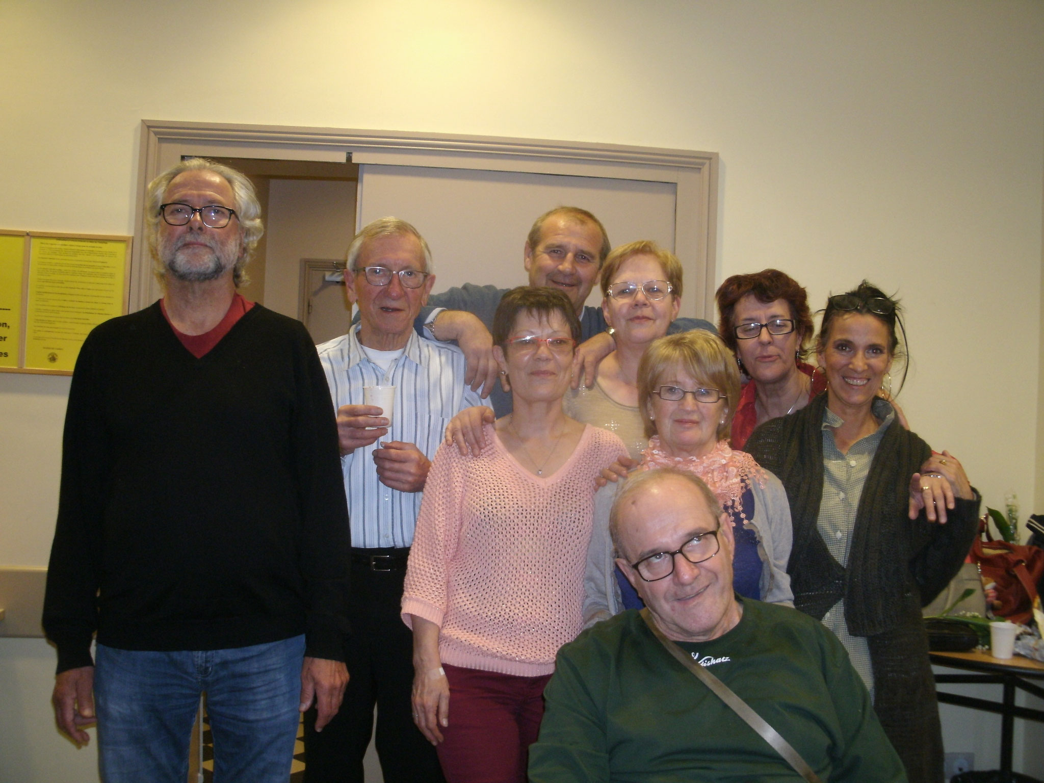 Le 29 Avril 2016,Anniv d'Annie,Isabelle,Marie-Christine,Marie-Jeanne,Odile,Alain,Bernard,Daniel et Régis,