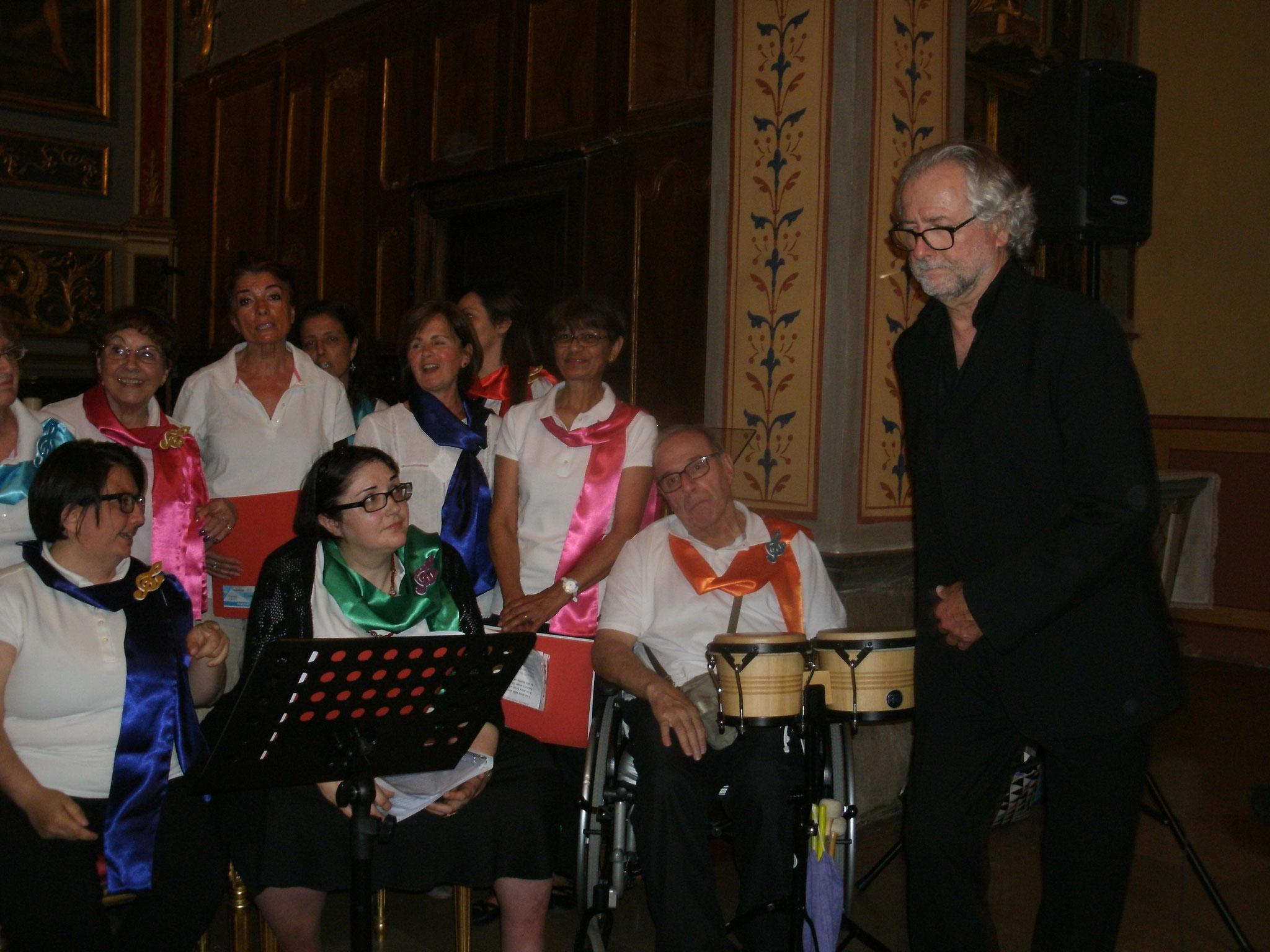 Nous sommes invités par la Chorale Barba'chante