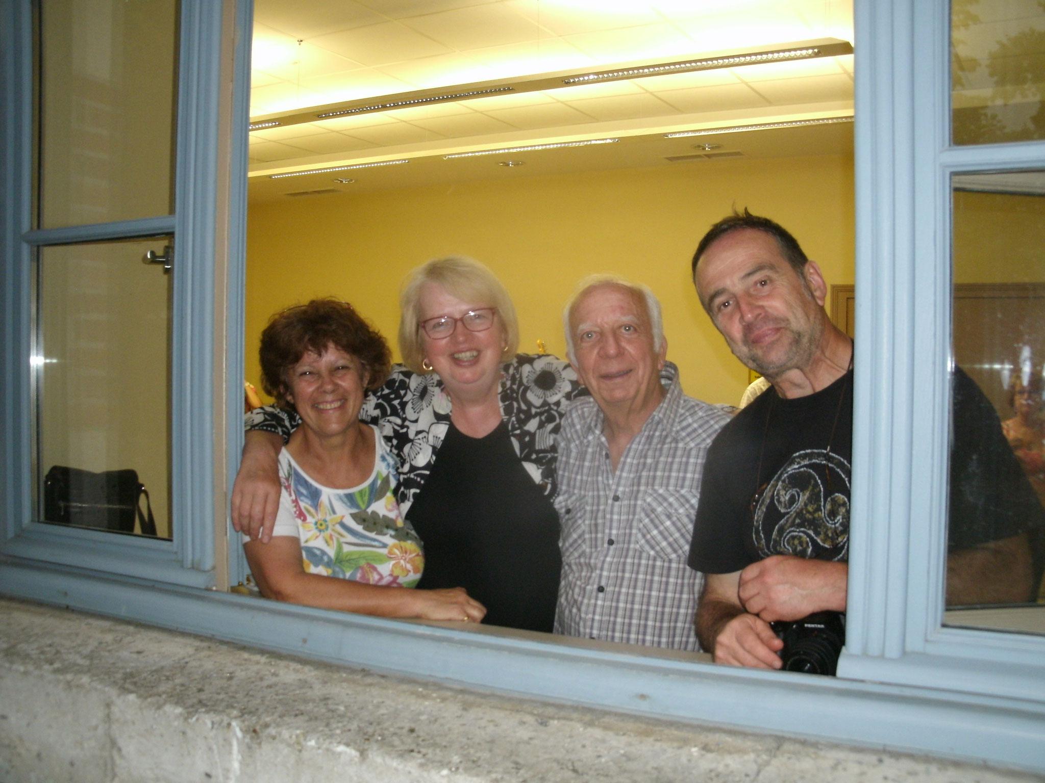Le 24 Juin 2016,nous fêtons les anniversires de René,Claude,Claudine et Gisèle.
