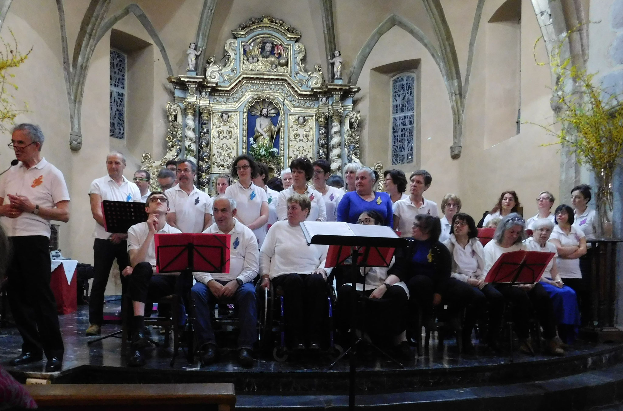 Le 13 Avril 2018, Premier Concert à l'église de Lannemezan