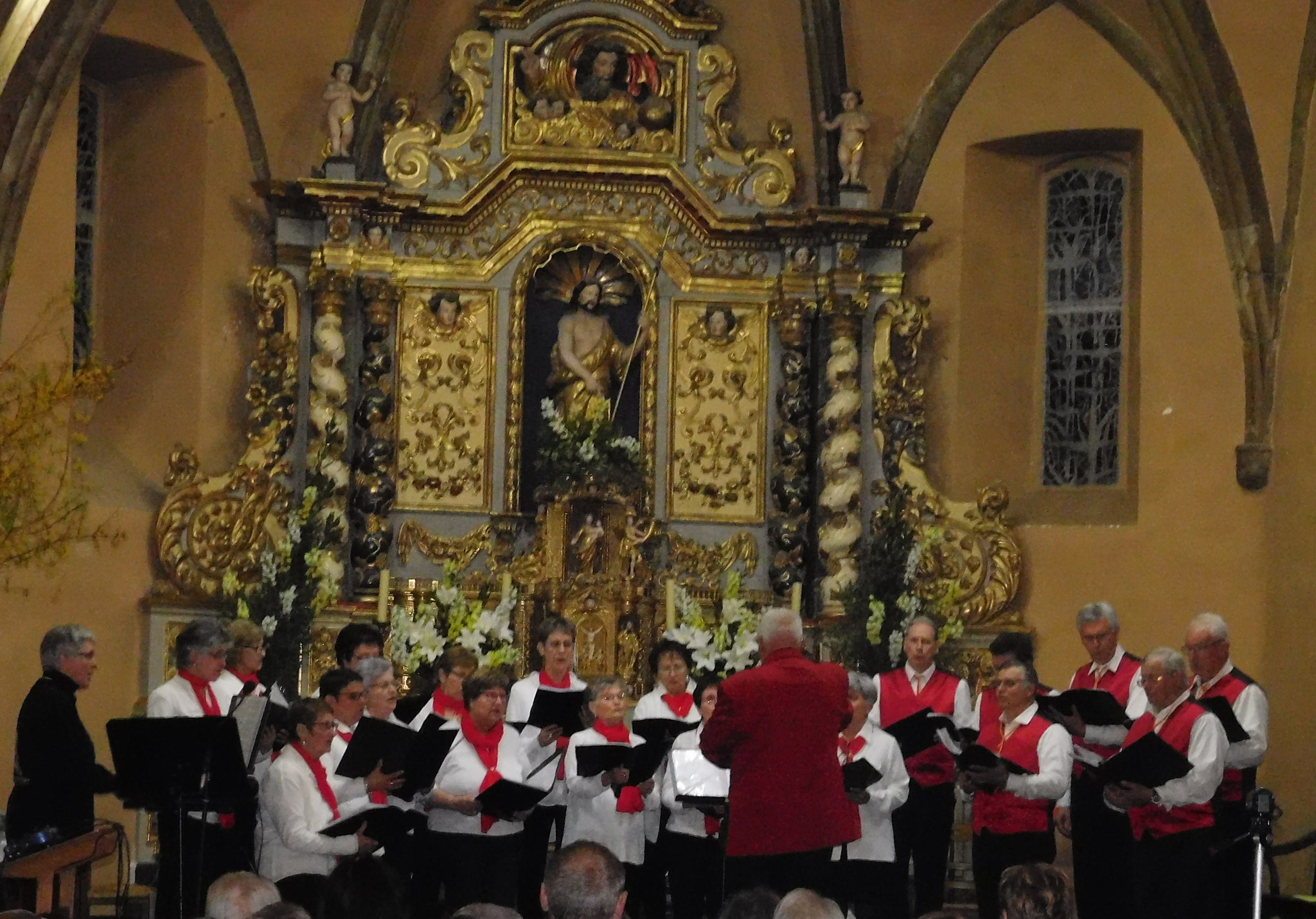 Avec la chorale Béarn Bigorre
