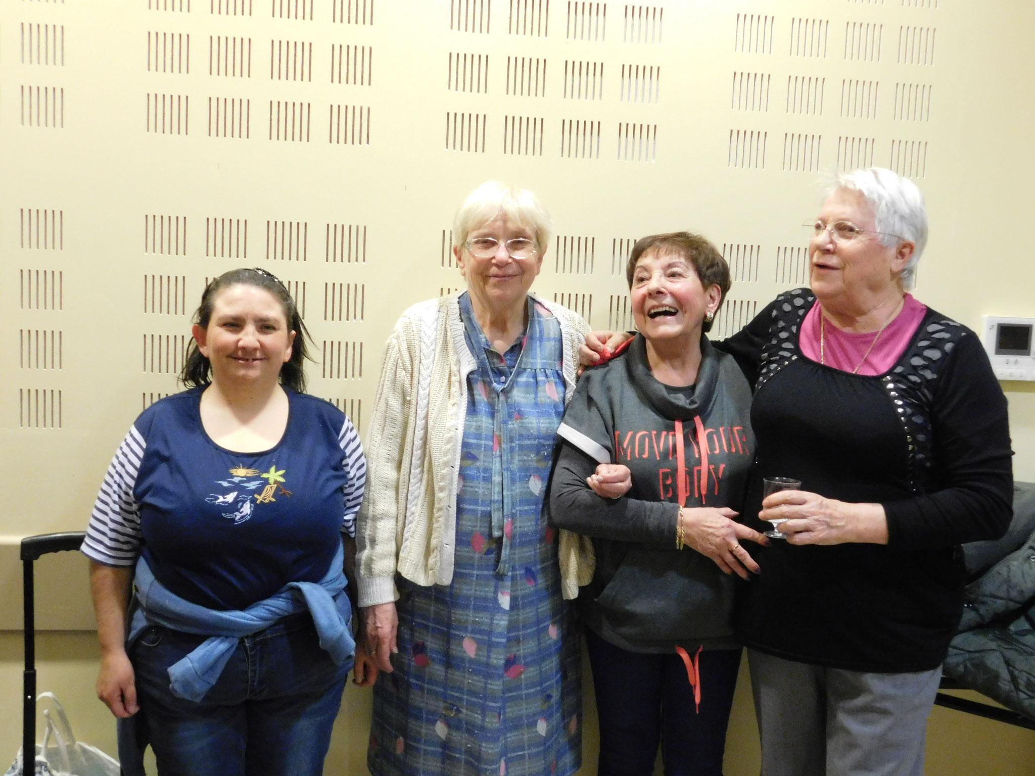 Anniversaire de Marie-Line,Jeanine,Juliette et Michèle le 9 Décembre 2016