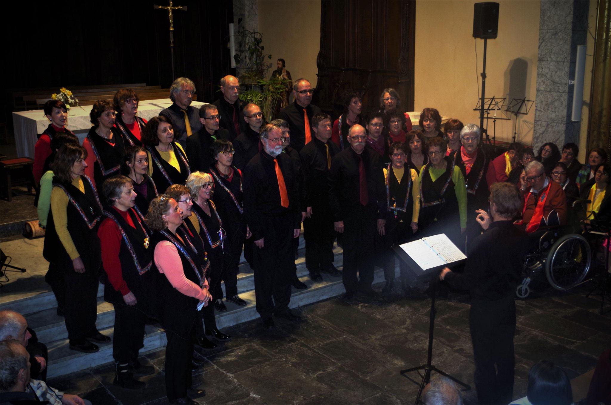 Une fois de plus la Chorale Edelweiss nous a régalé de son répertoire international