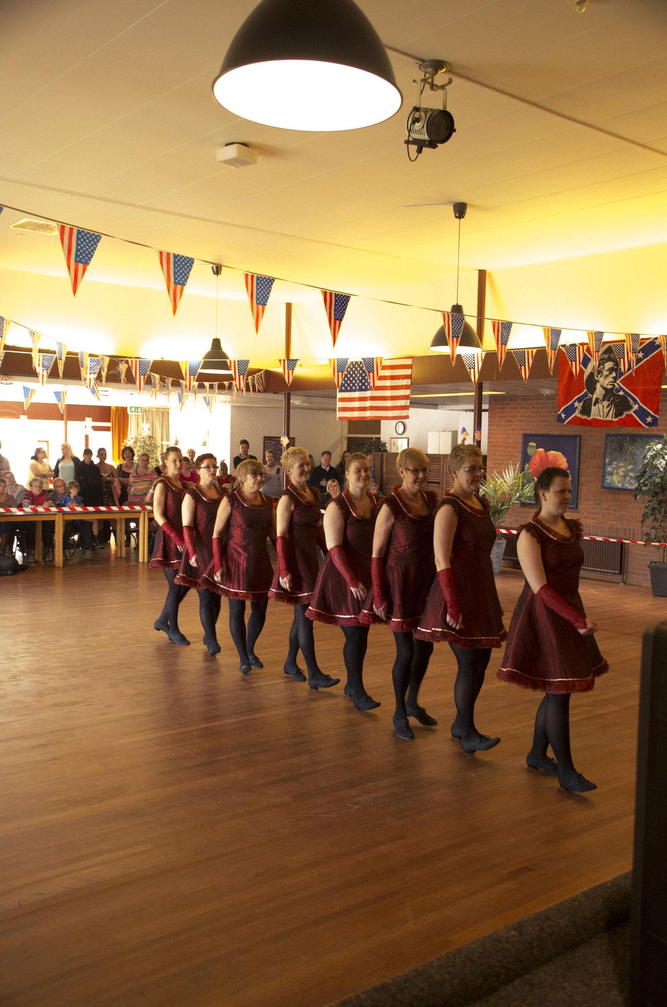Wedstrijd 2014 teamdans