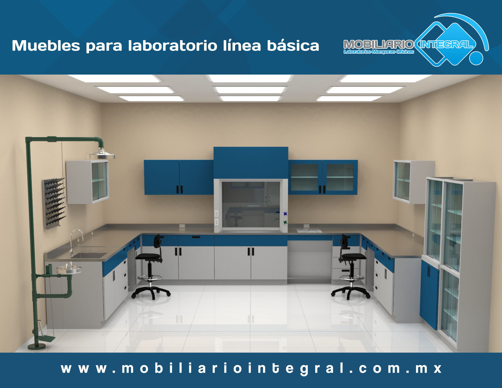 Muebles para laboratorio en Santa Catarina