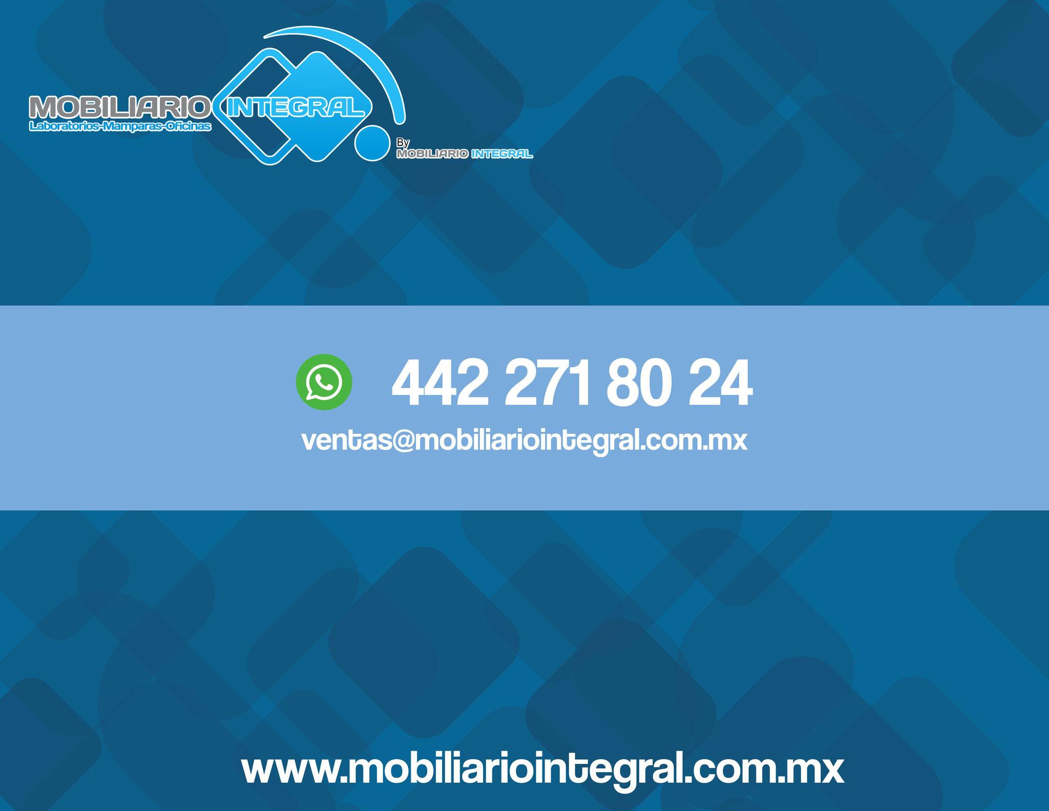 Muebles para laboratorio escolar Quintana Roo