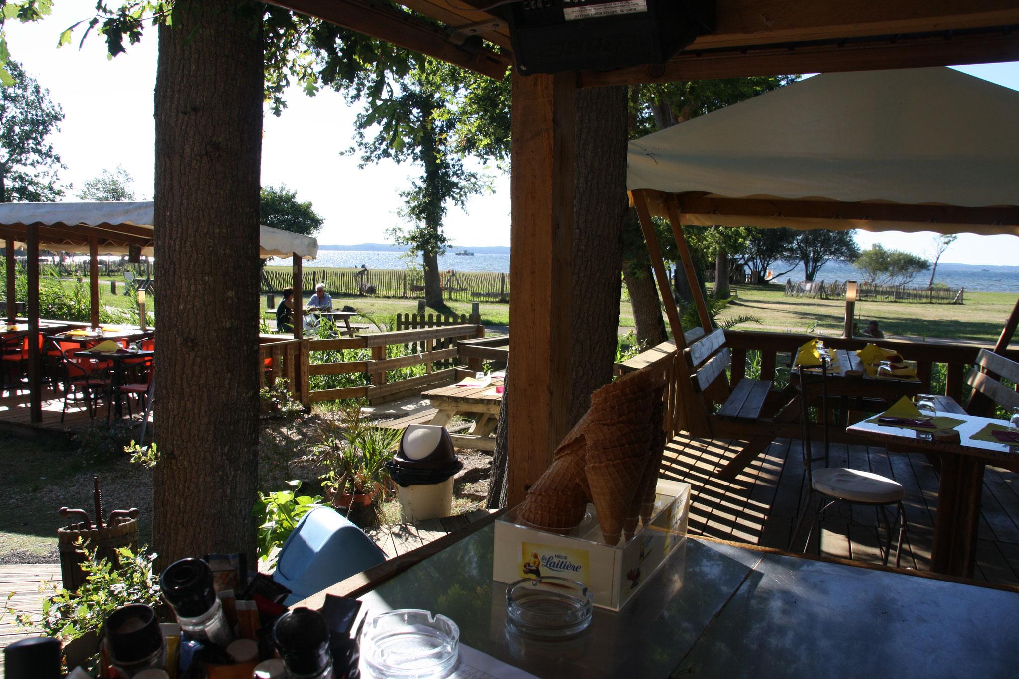 Vue panoramique sur le lac