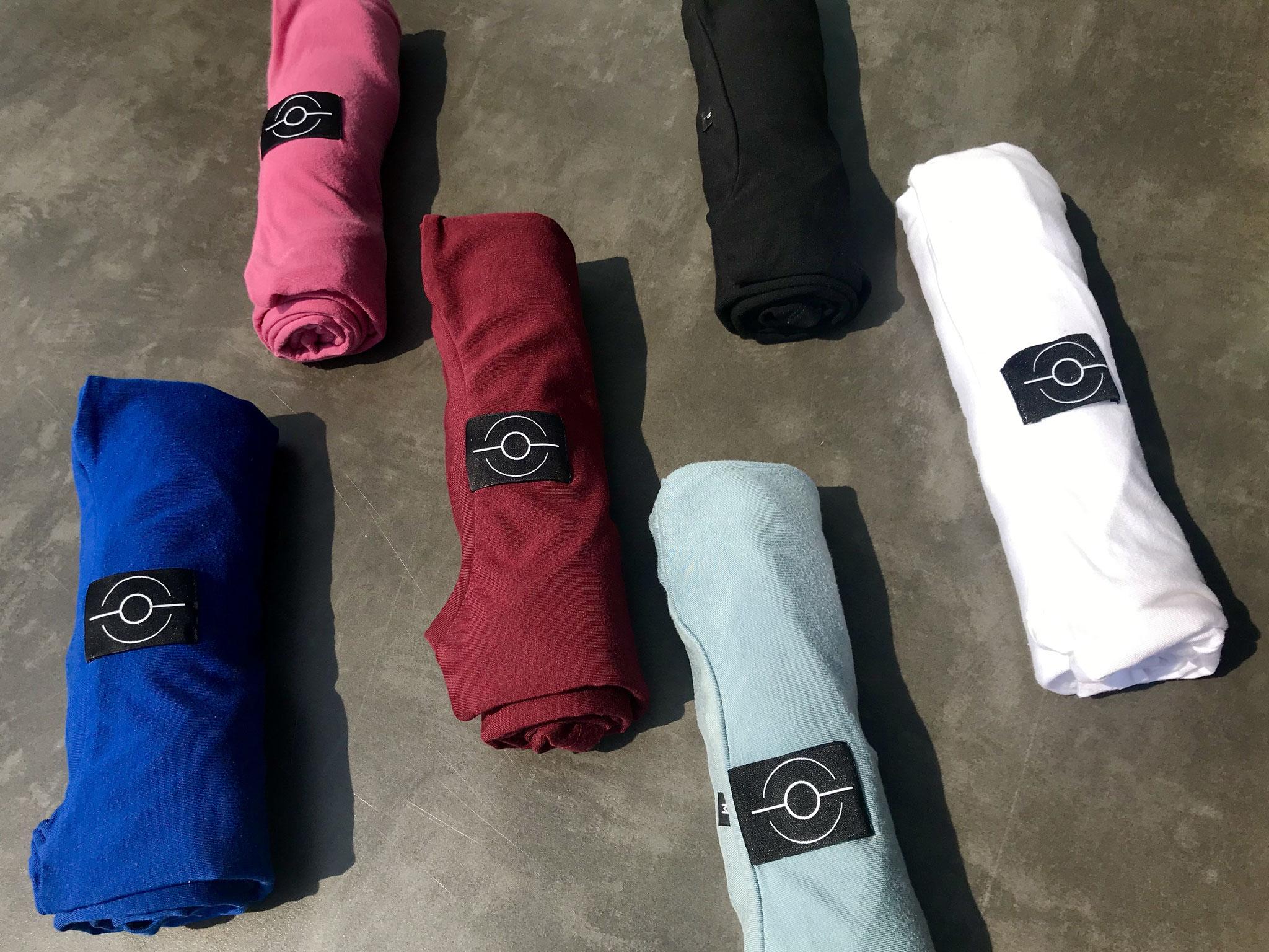 NEU! T-Shirts in frischen Farben