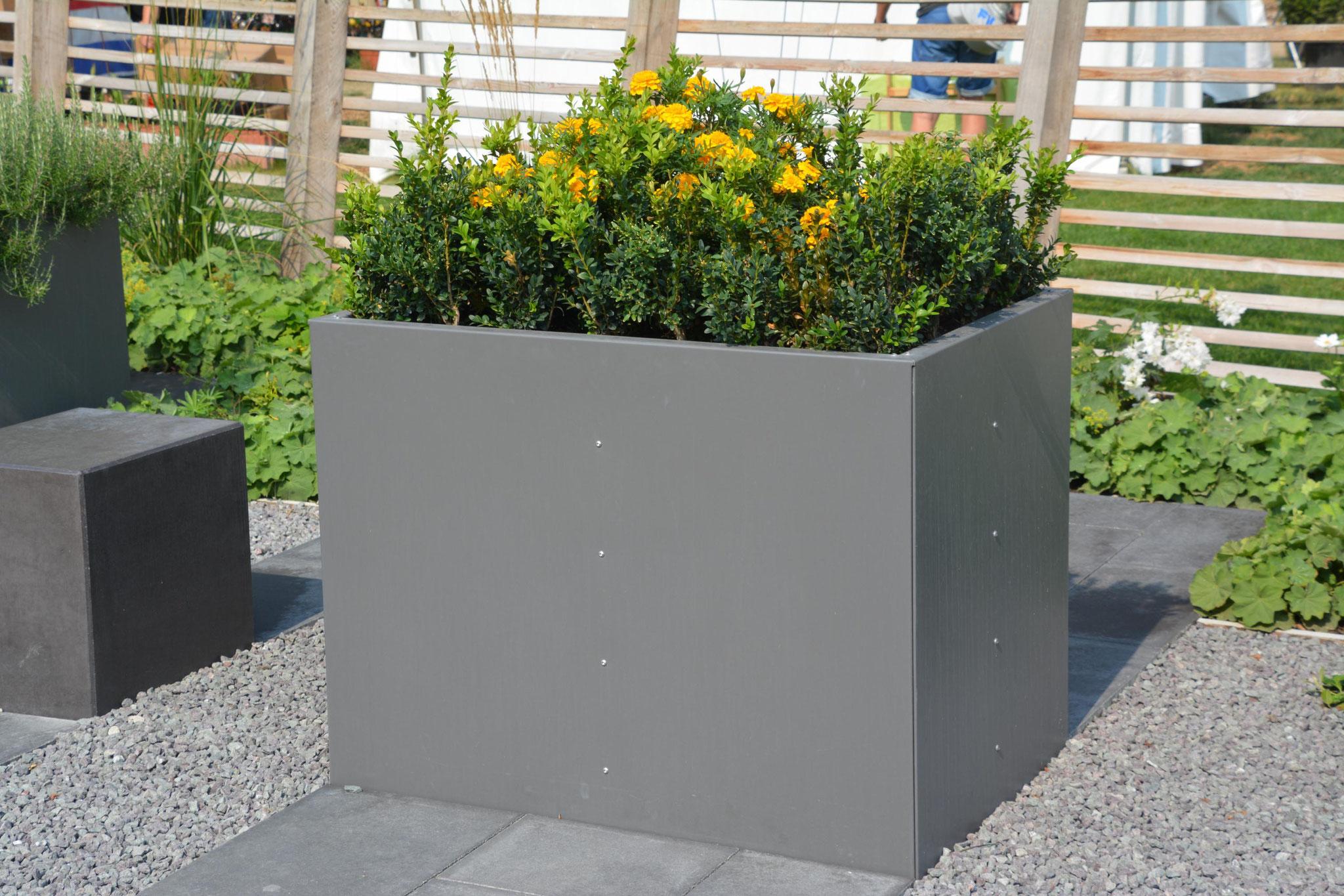 hochbeet urban metallmoebel24. Black Bedroom Furniture Sets. Home Design Ideas