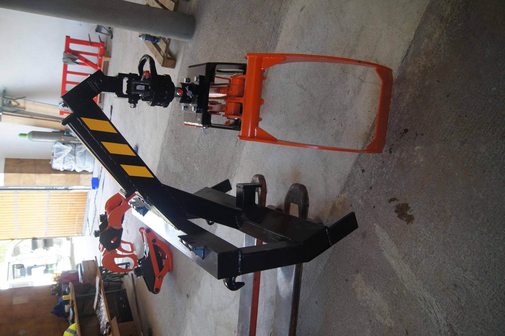 1210mm Öffnungsweite, Galgen für Frontlader-anbau