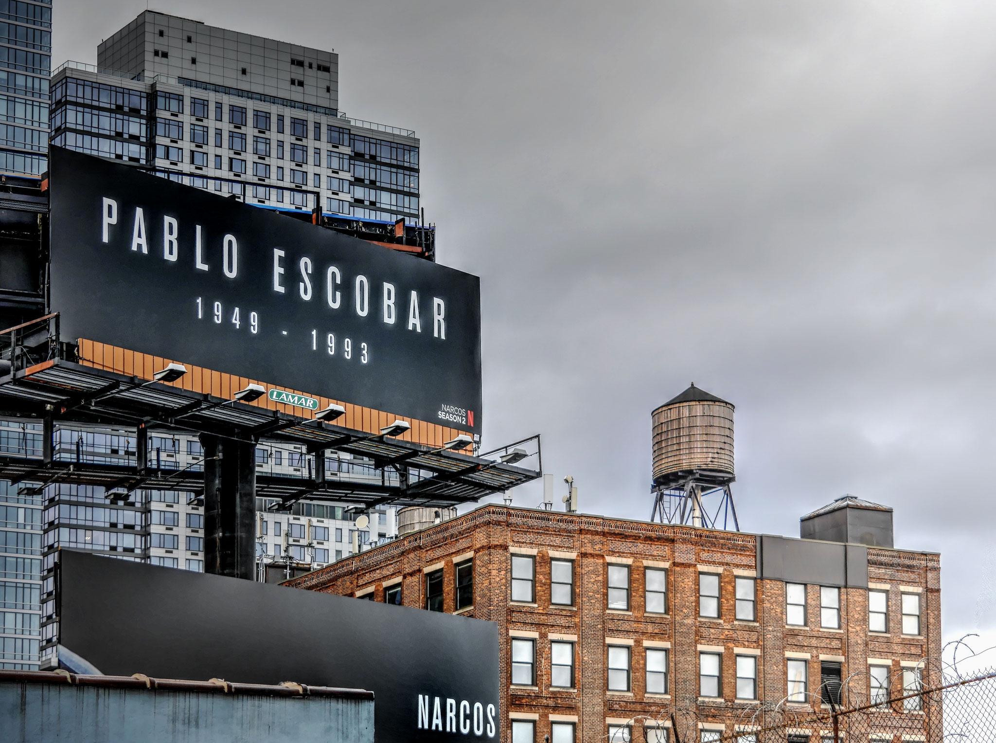 · pablo escobar · new york city · yak © 2016 RK