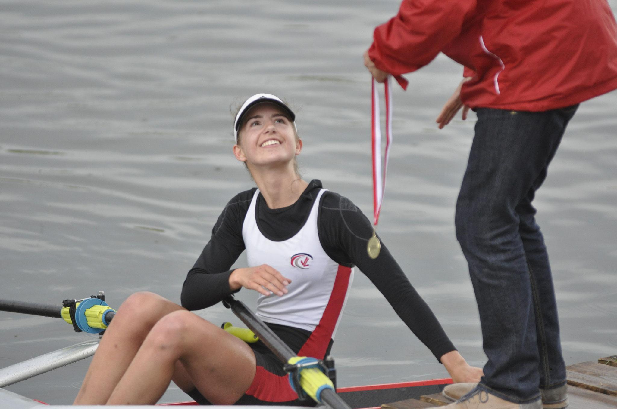 Luisa Birker 2 fach Siegerin in Bamberg bie den Juniorinnen  A Leichtgewicht und schwer