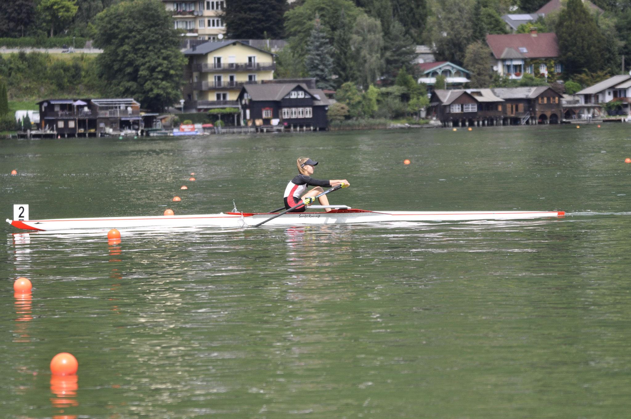 L. Birker im Finale