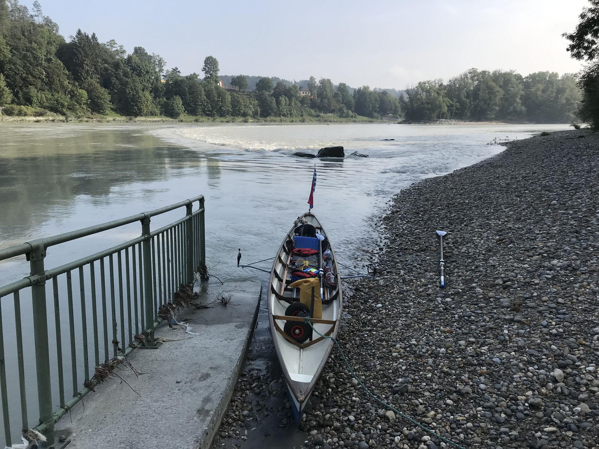Einsatzstelle Wasserburg