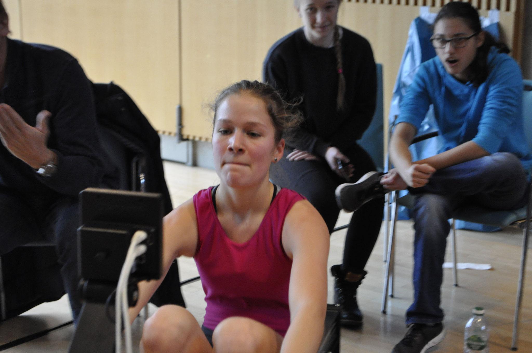 Laura Kerschl mit einem Vizetitel bei Juniorinnen 15 16 J. Leichtgewicht