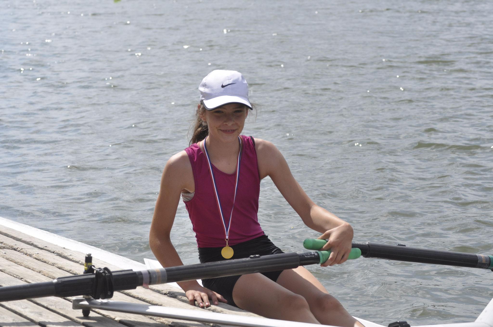 Antonia Herpich qualifiziert sich für die Deutsche Schülermeisterschaft Ende Juni in München