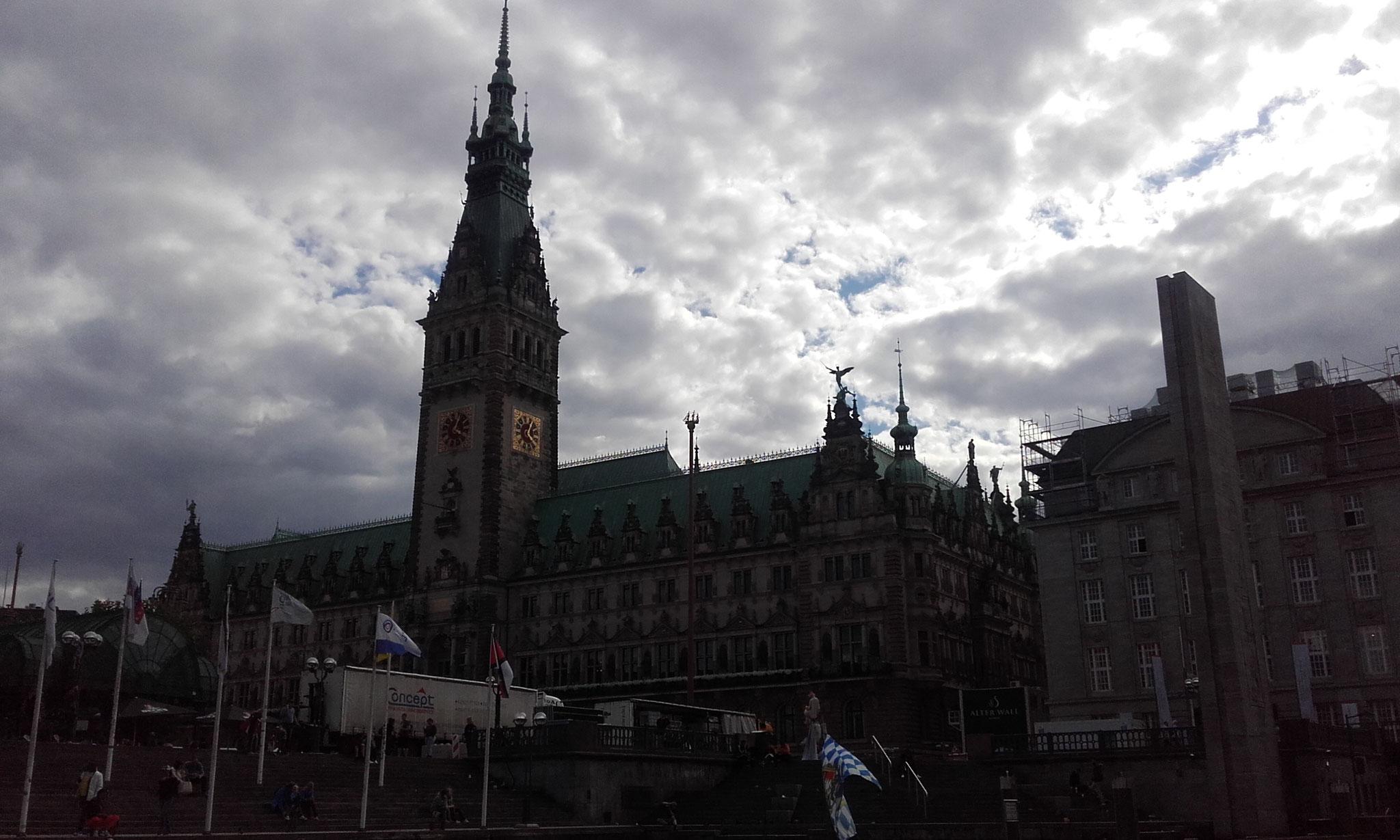 Hamburg/ Rathaus