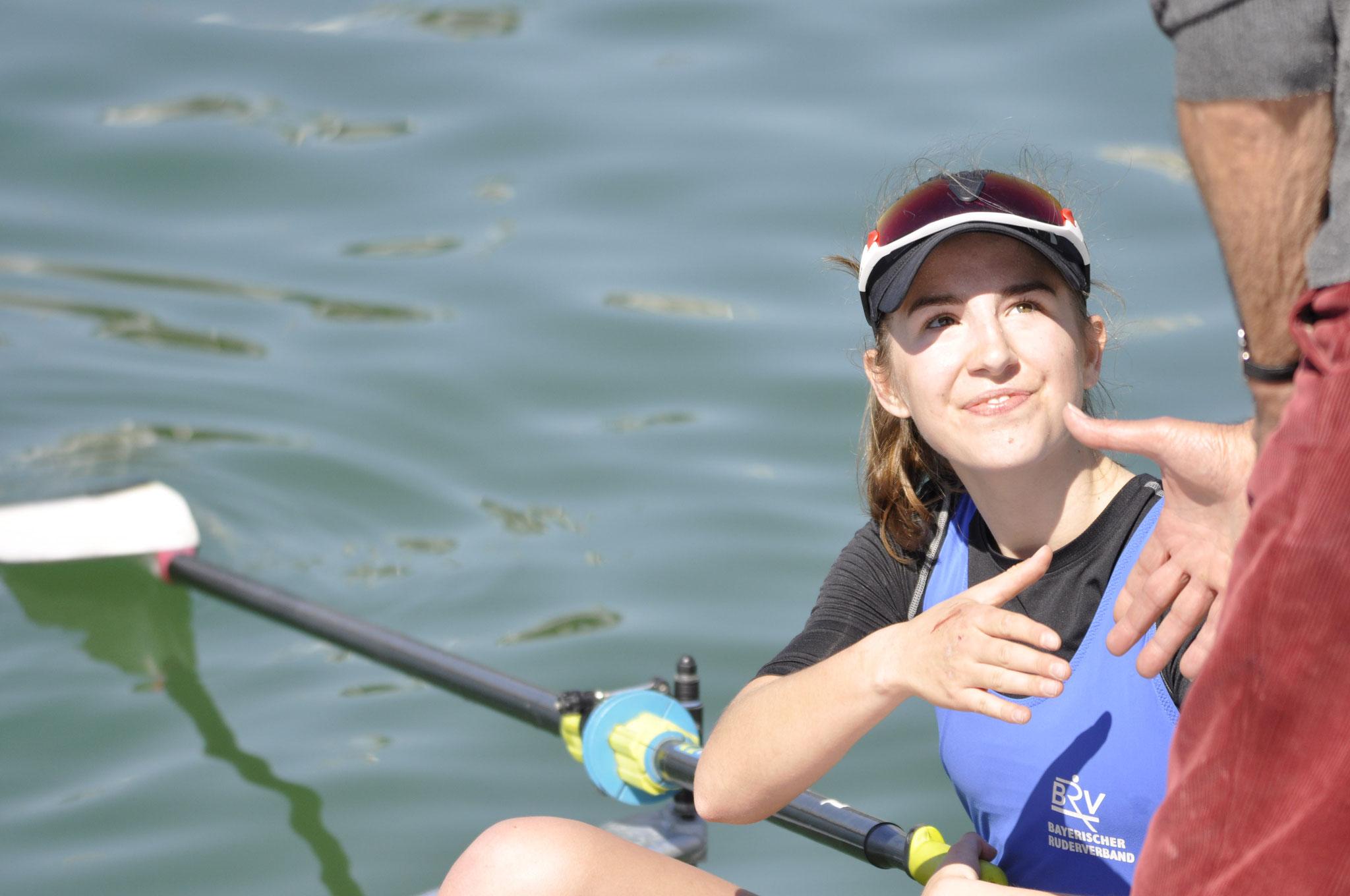 Luisa Birker 3 fach Siegerin in Klgf