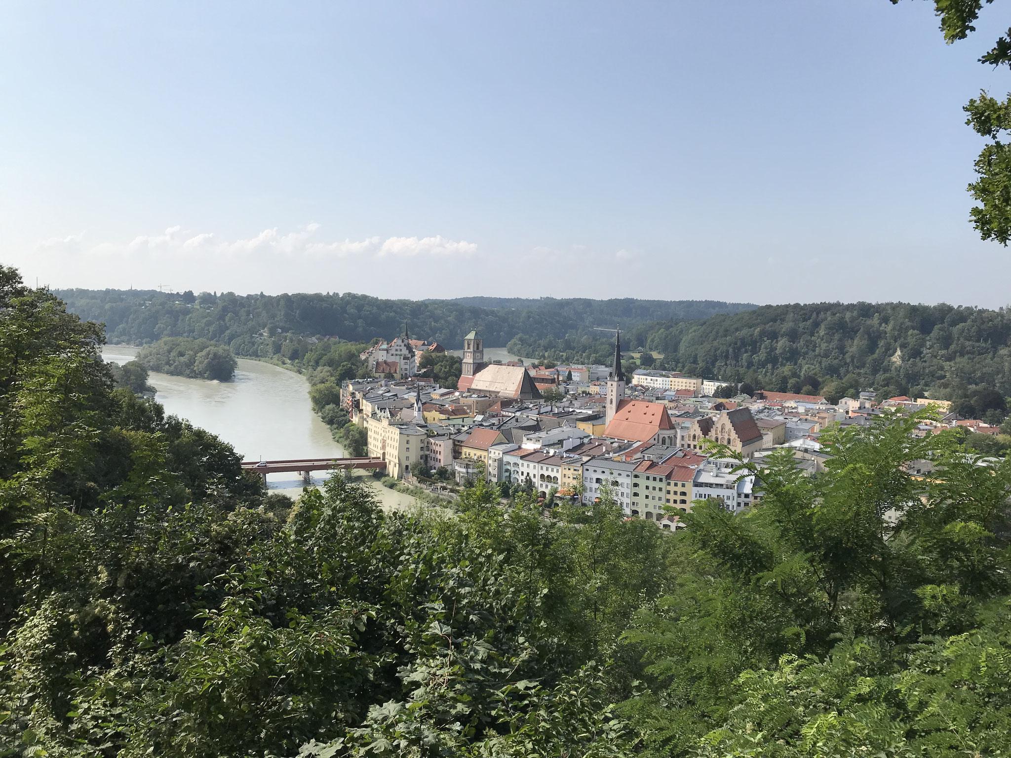 Wasserburg von der schönen Aussicht
