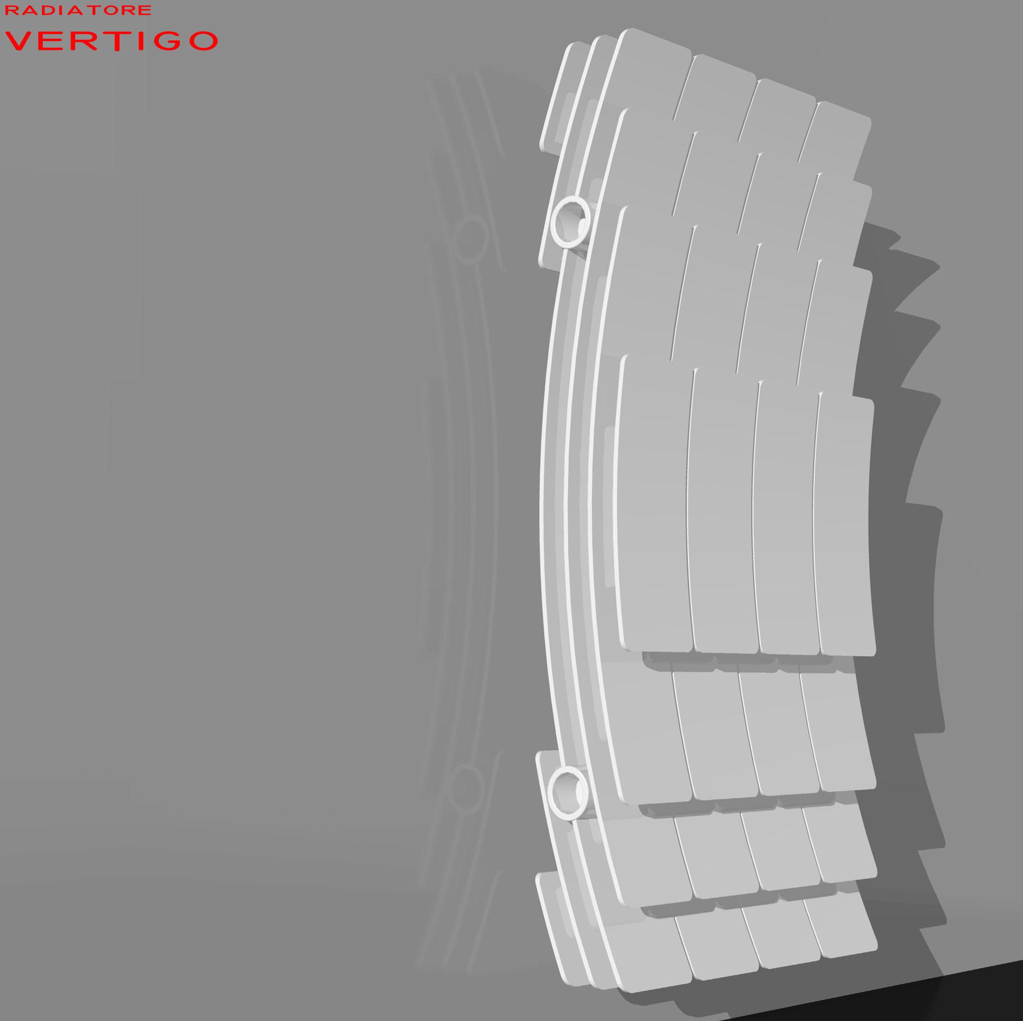 Vertigo - Studio radiatore 2008 ADHOC Gruppo Ragaini   rendering.