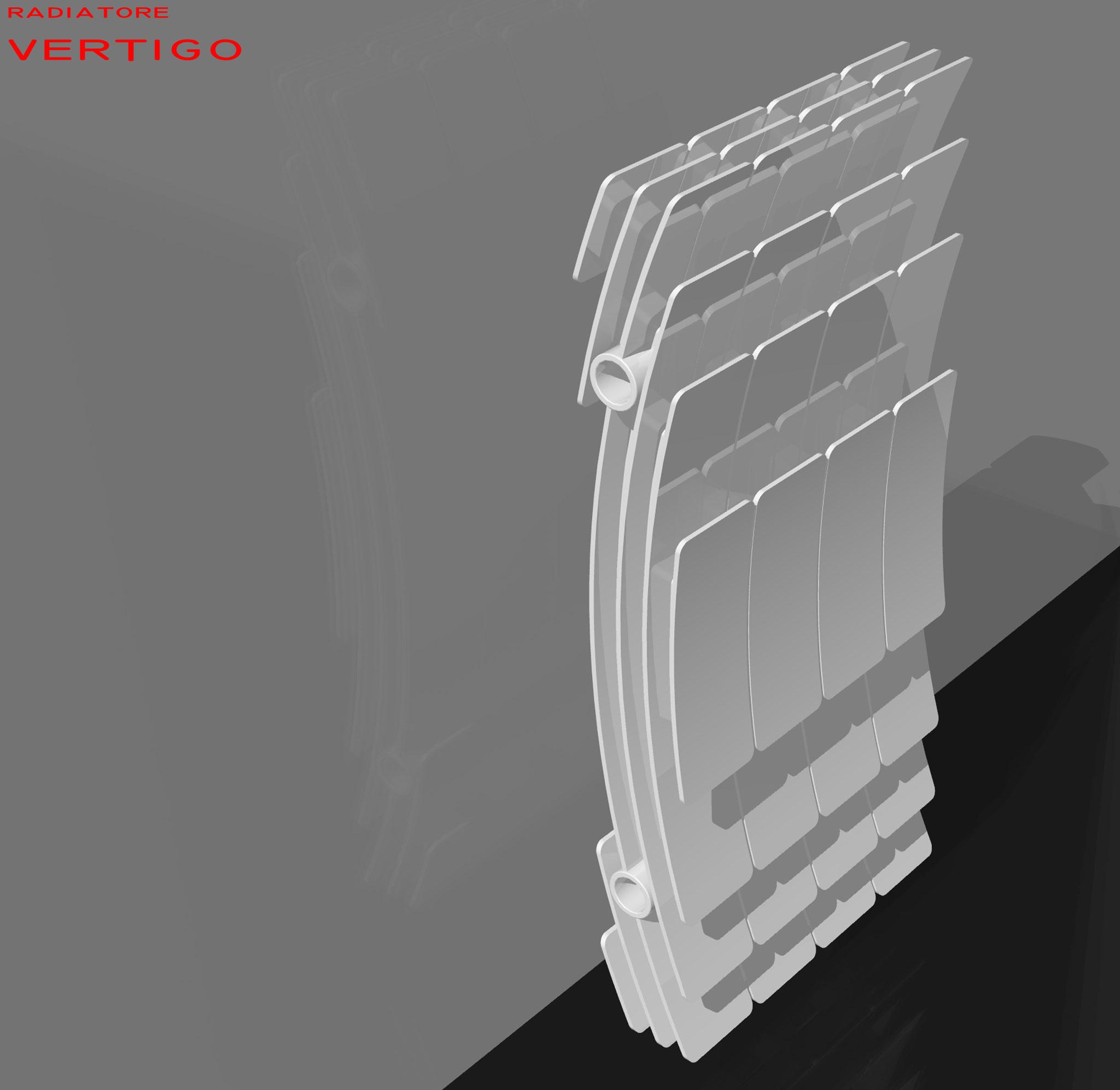 Vertigo- Studio radiatore 2008 ADHOC Gruppo Ragaini   rendering.
