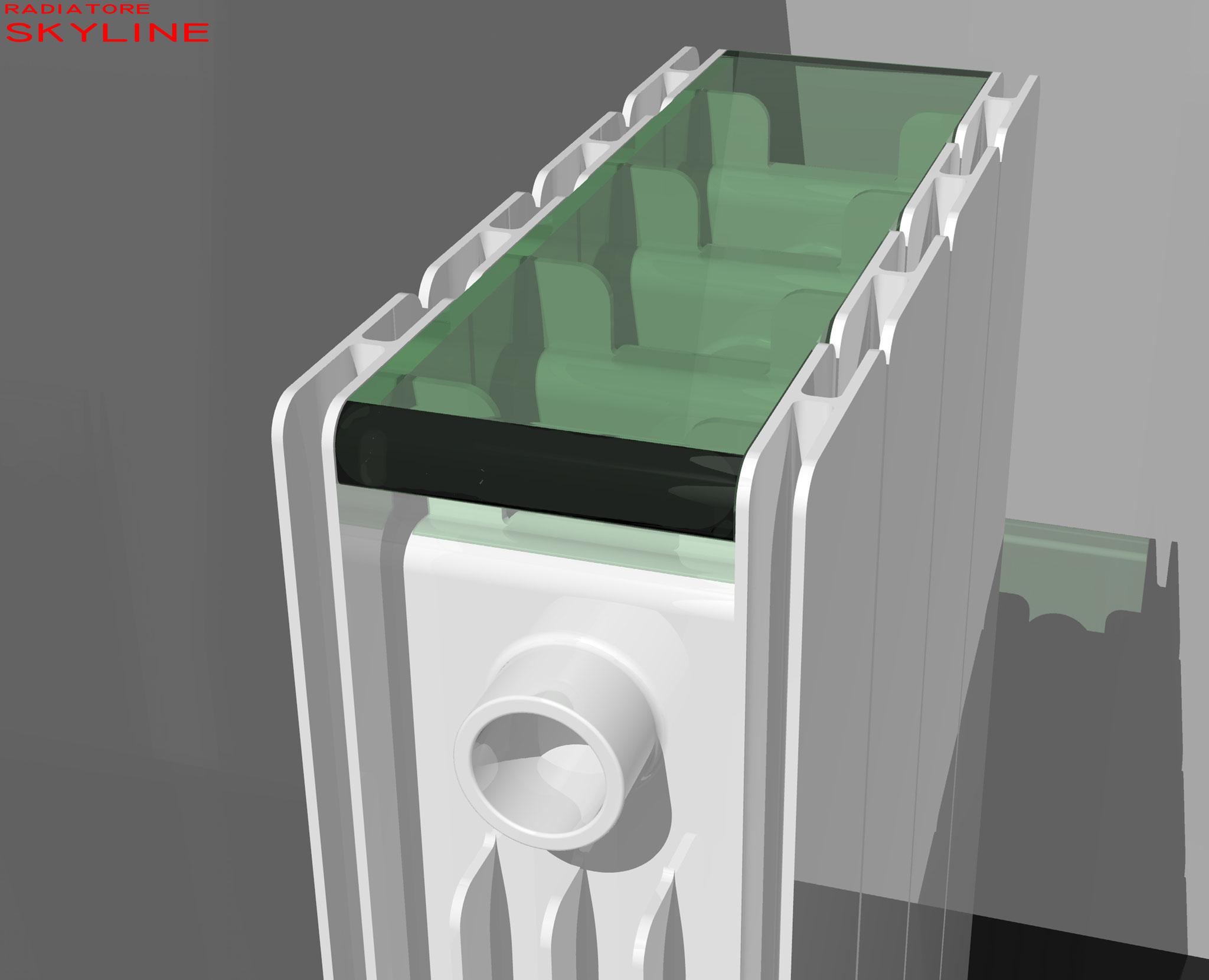 Skyline - Studio radiatore 2008 ADHOC Gruppo Ragaini   rendering.
