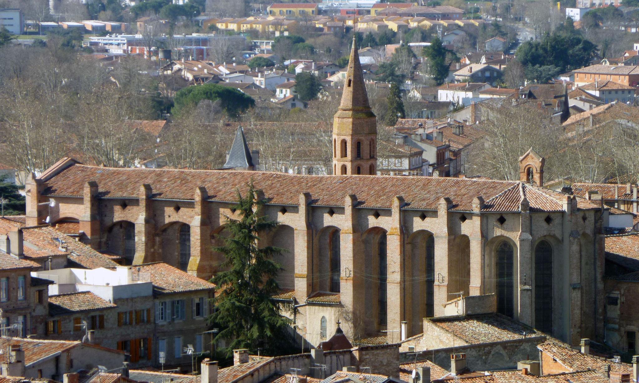 L'église médiévale Saint-François