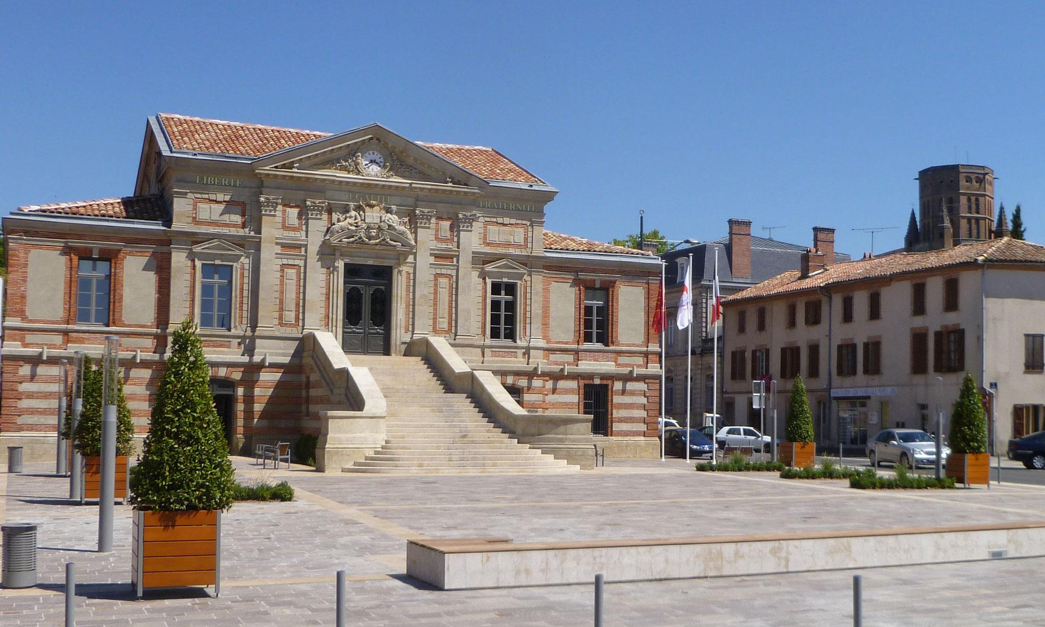 L'Hôtel de Ville, ancien palais de justice