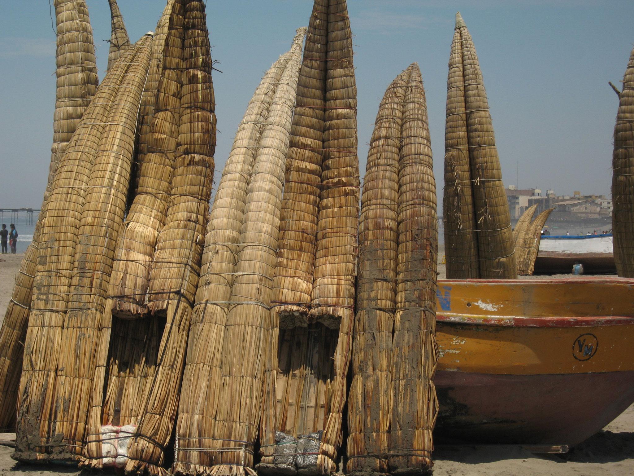Bateau de paille au Pérou
