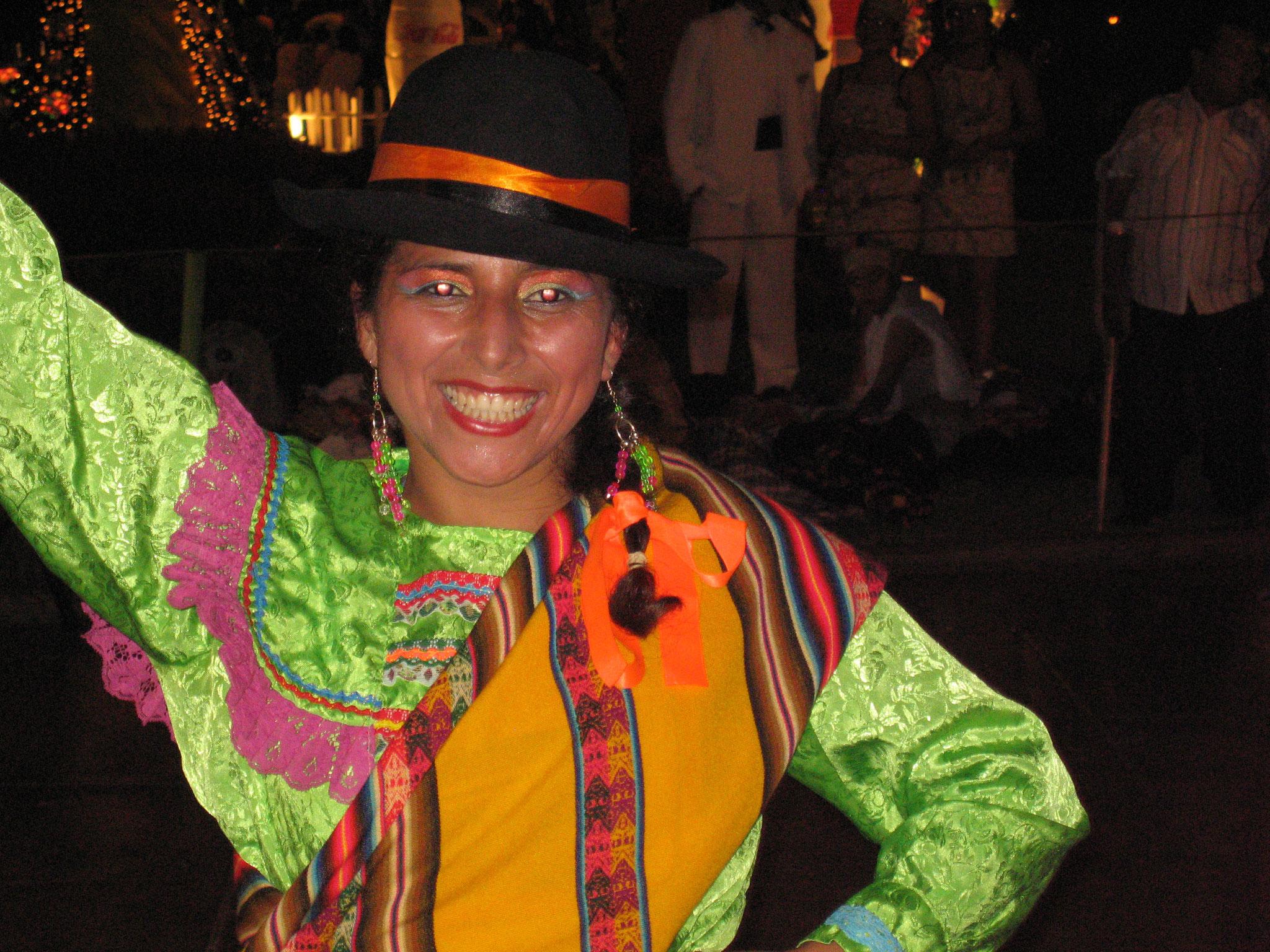 Femme au Pérou