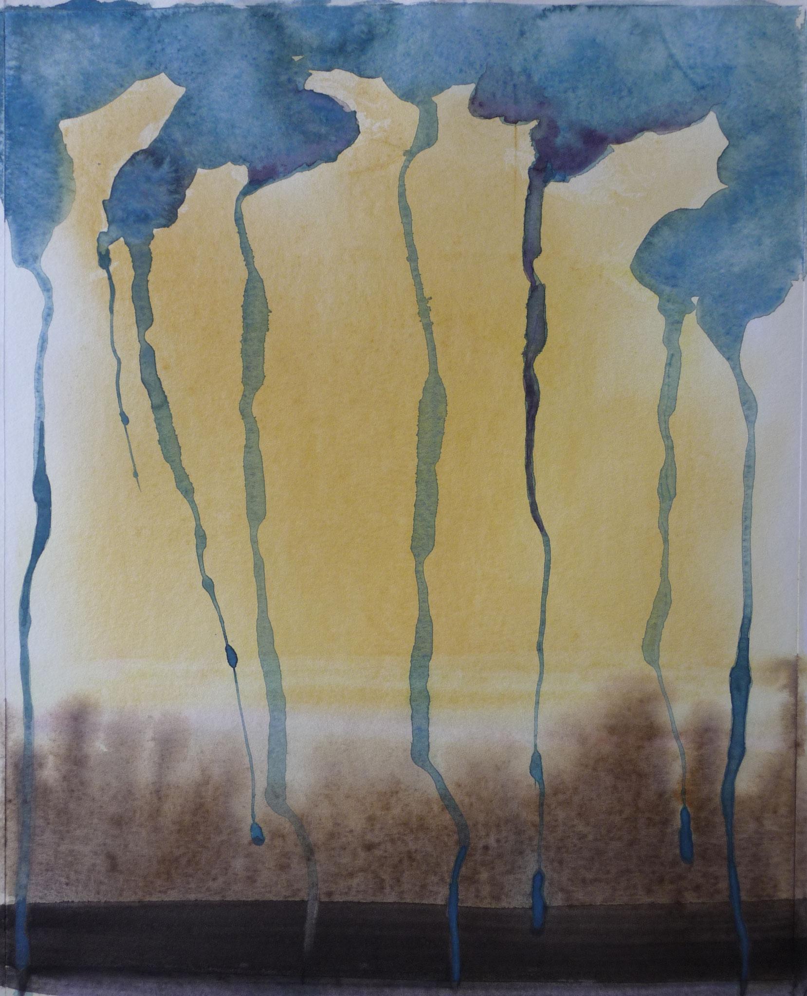 Drôme 5   ---   2011 - Aquarelle - 20 x 30 cm