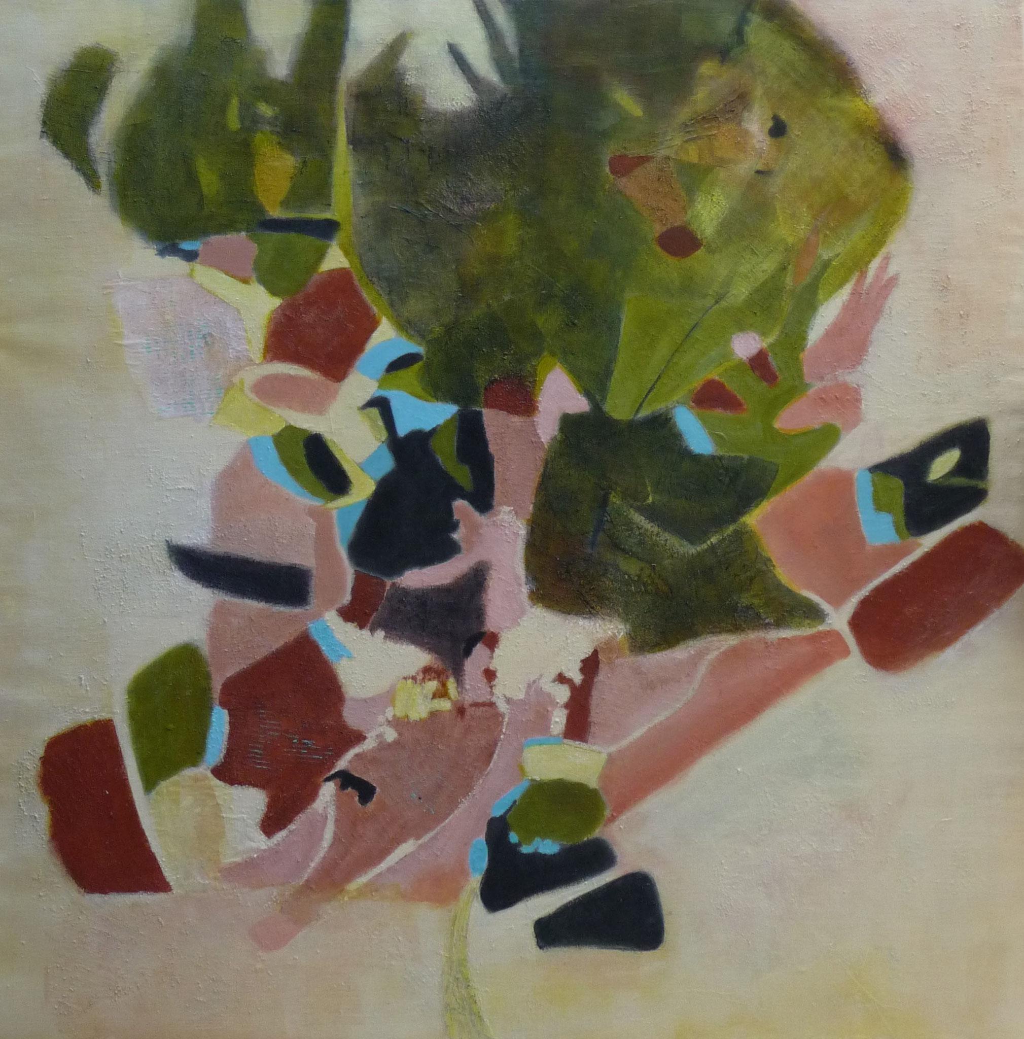 L'arbre des hasards - 2019 - acrylique sur toile - 100 x 100